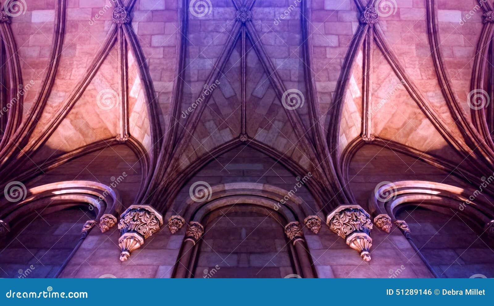 romanesque castle stock photo - image: 51289146