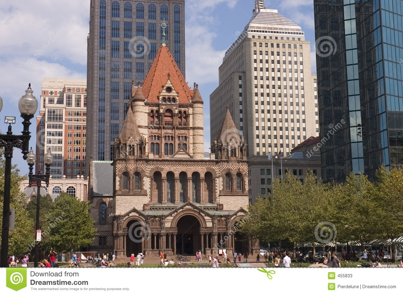 Download Romanesque church stock image. Image of tower, windows - 455833