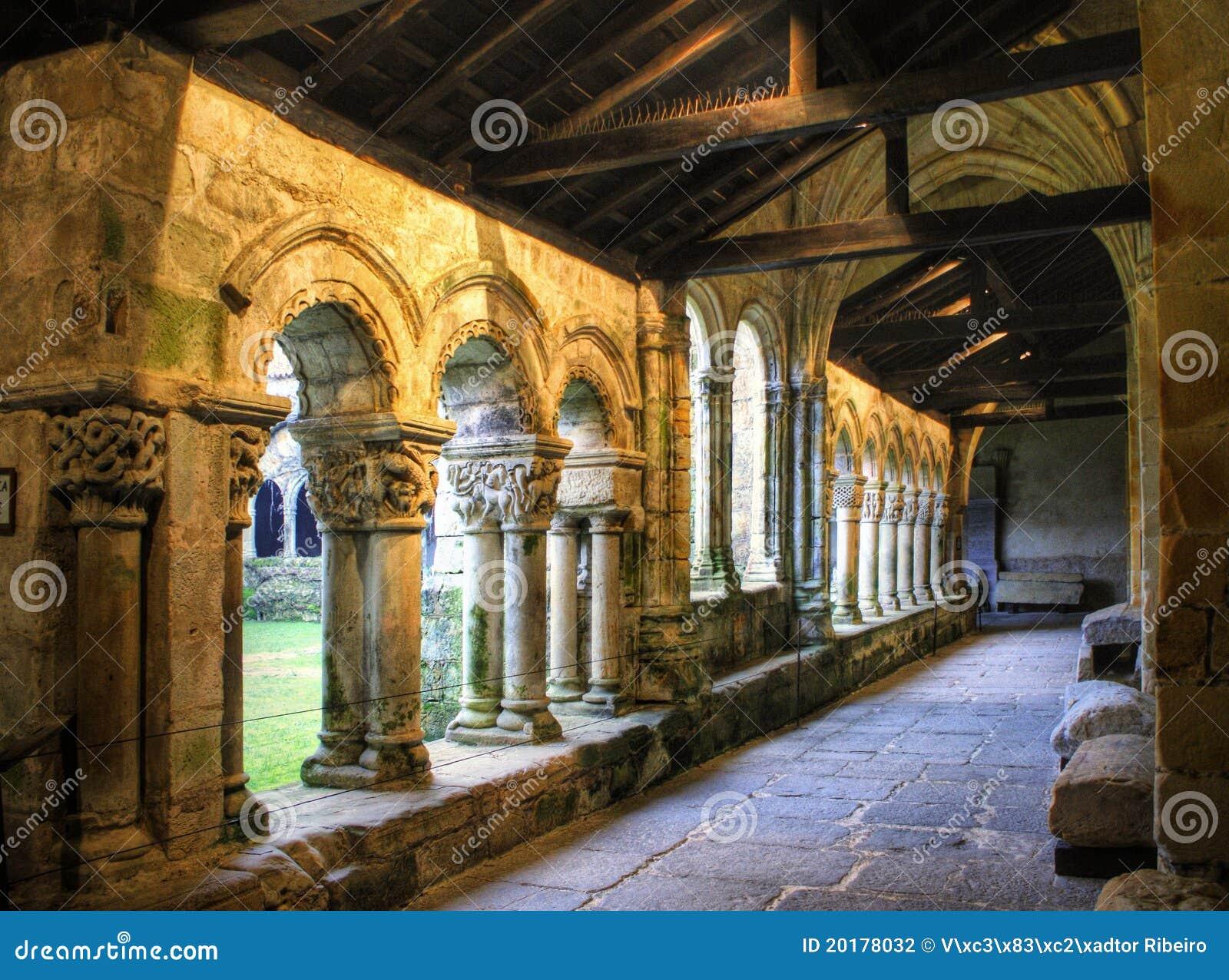 Romanesque cloister of Collegiata Santa Juliana