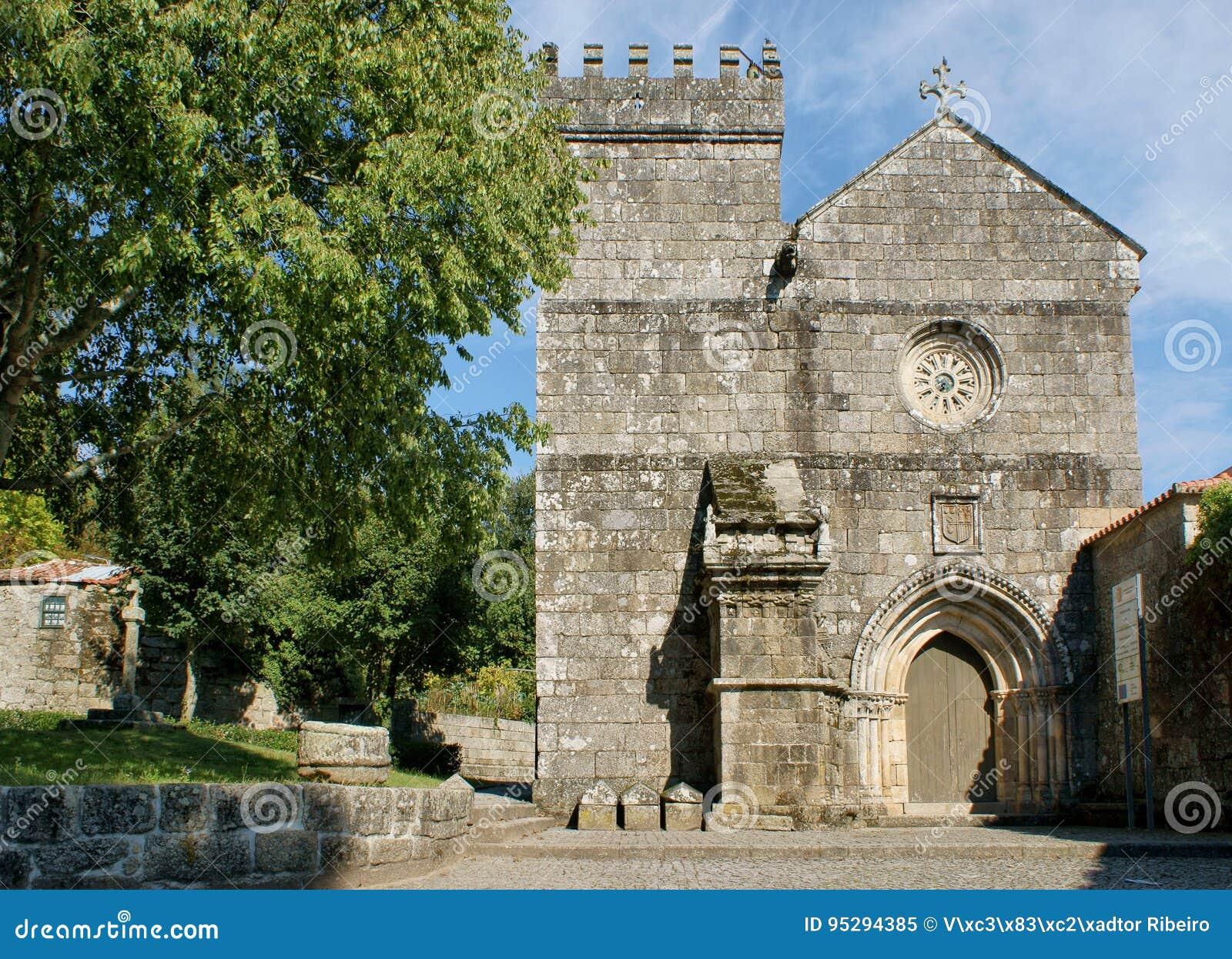 Romanesque monastery of Cete in Parede
