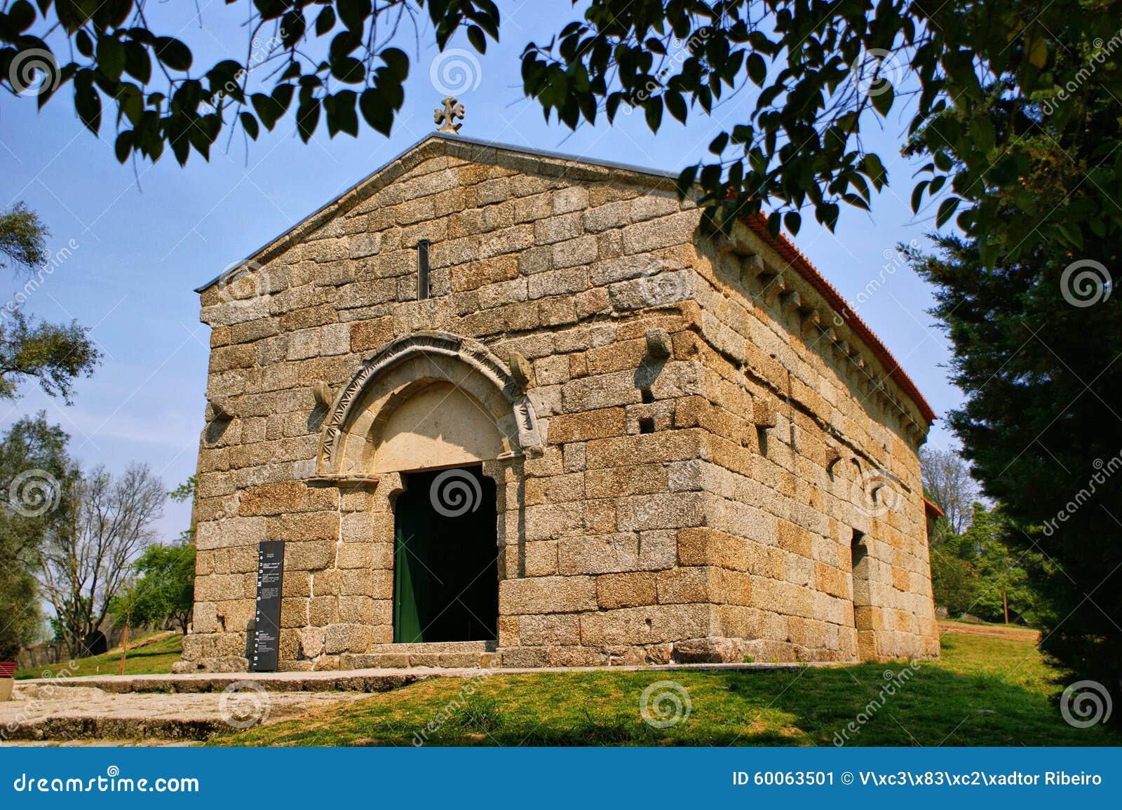 Romanesque Sao Miguel church