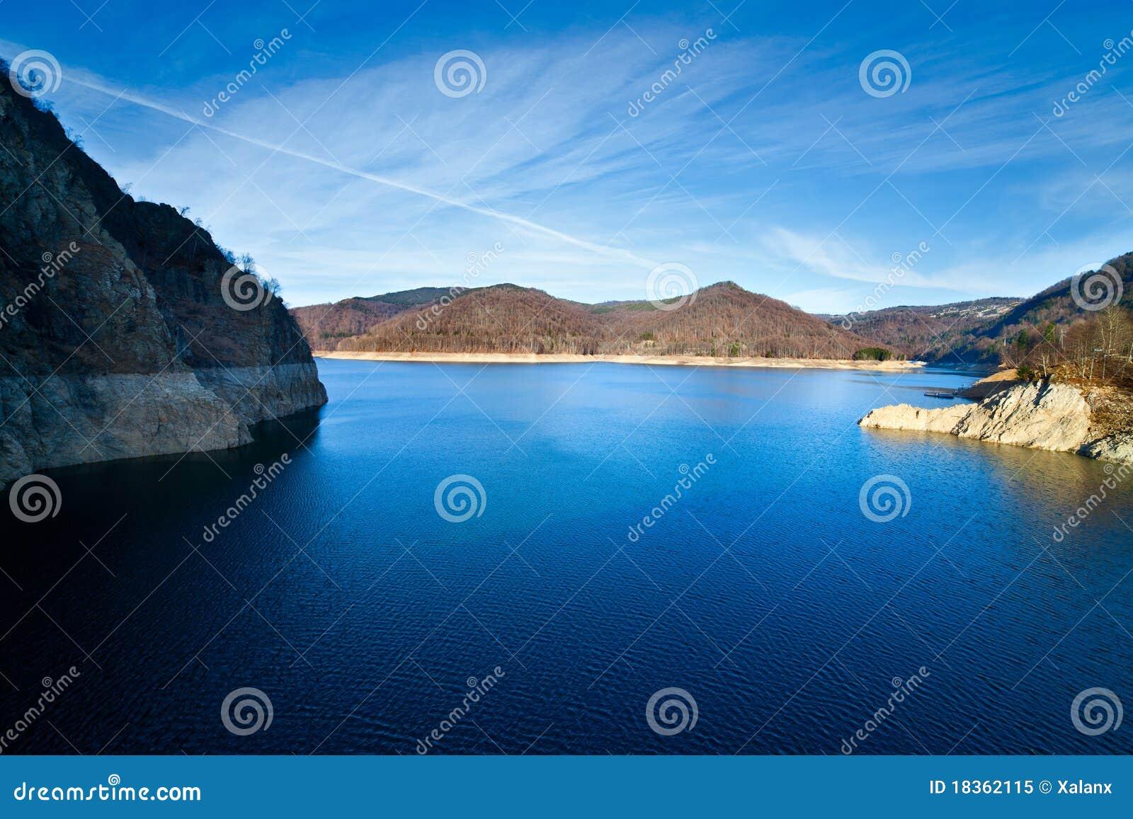 Romania jeziorny vidraru