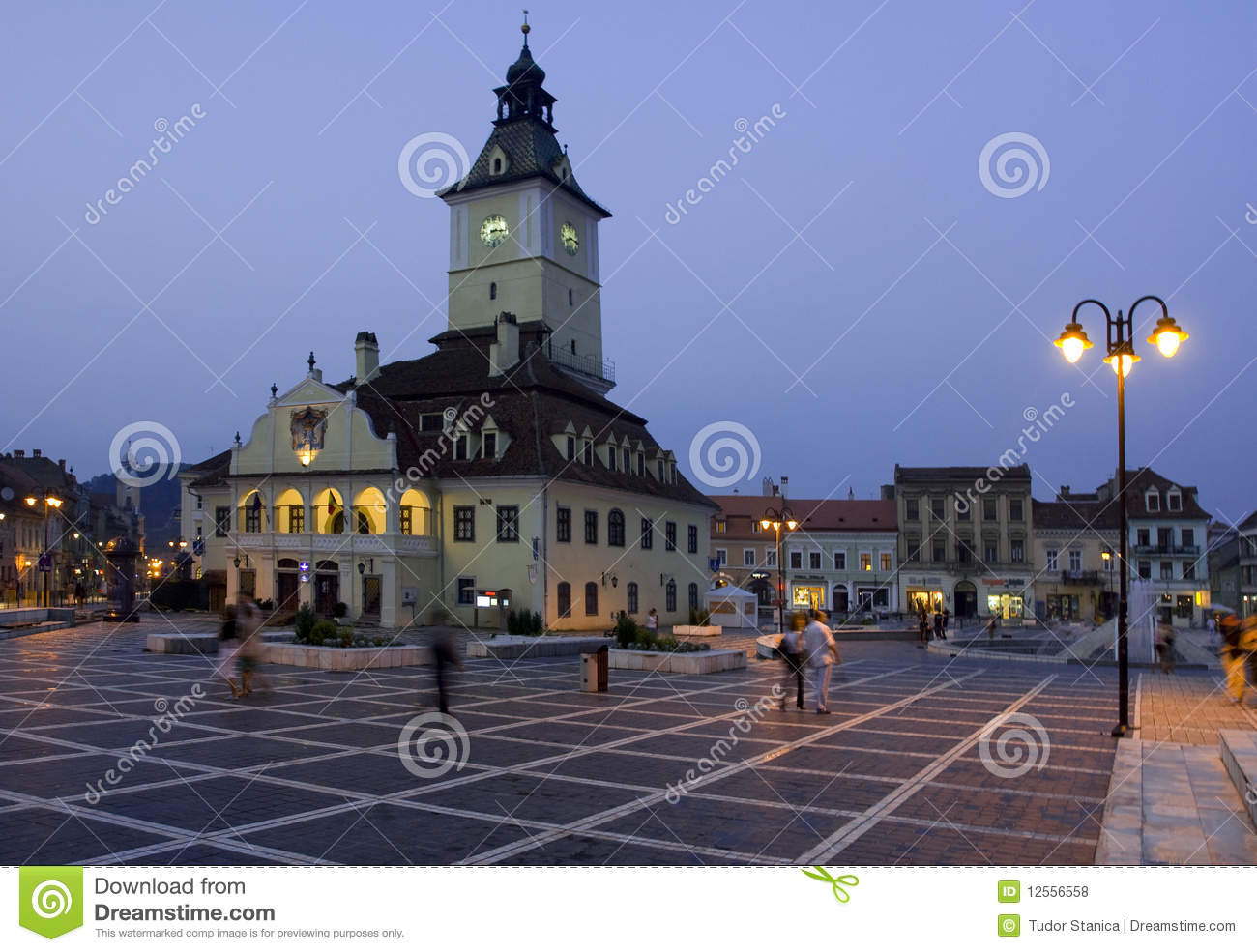 Romania Old City From Transylvania Royalty Free Stock Photos - Image ...