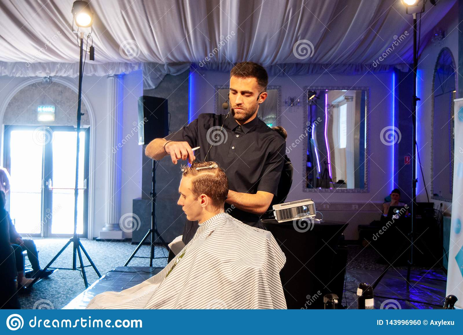 Romanian Best Barber Of 2019 Contest Editorial Image - Image