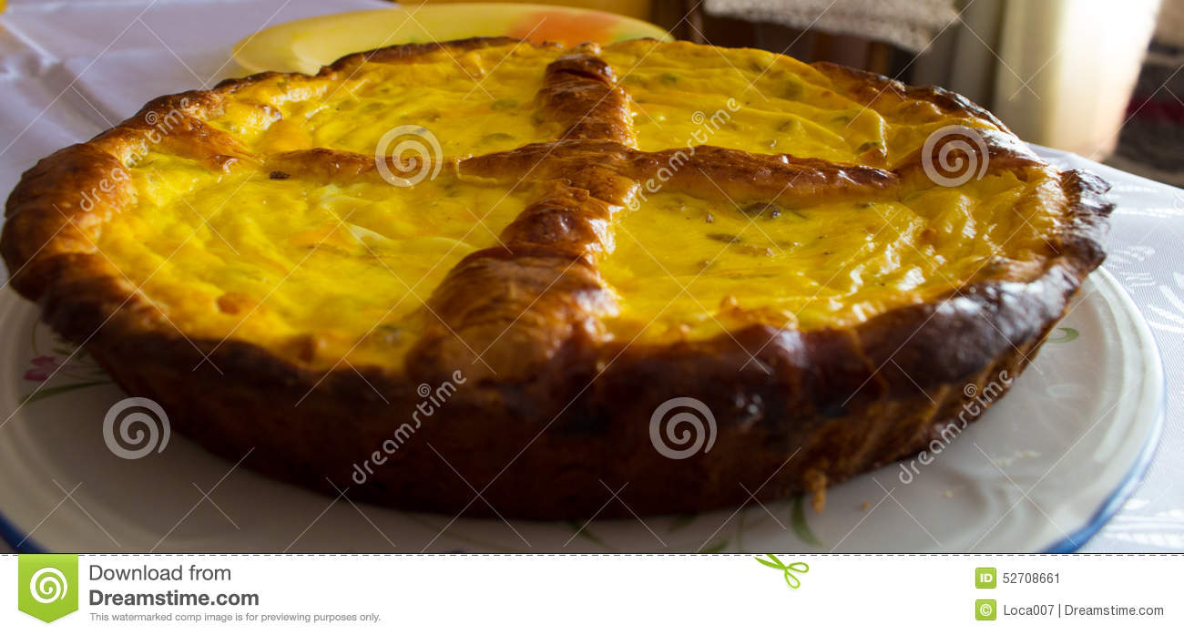 Romanian Easter Sweet Bread (pasca) Stock PhotoImage52708661