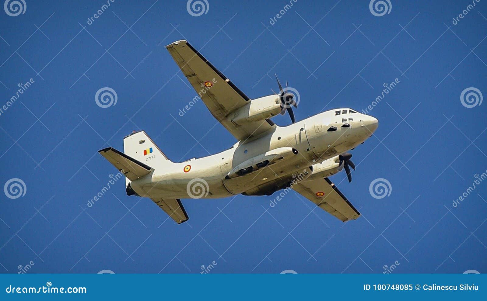 Romanian flygvapennivå på Bucharest den aeronautiska showen