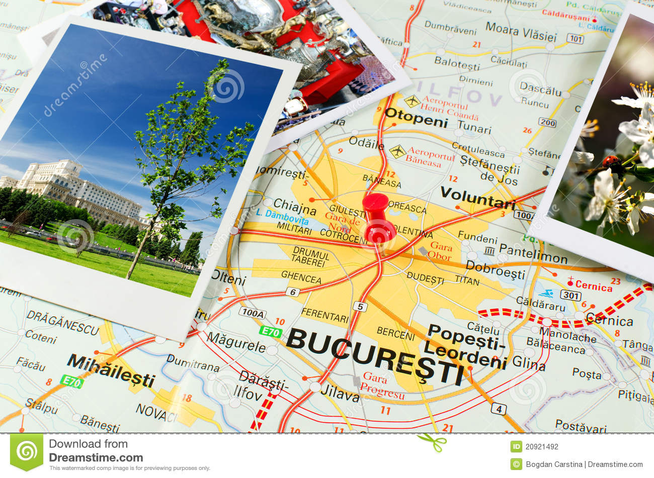 Where Is Bucharest Map
