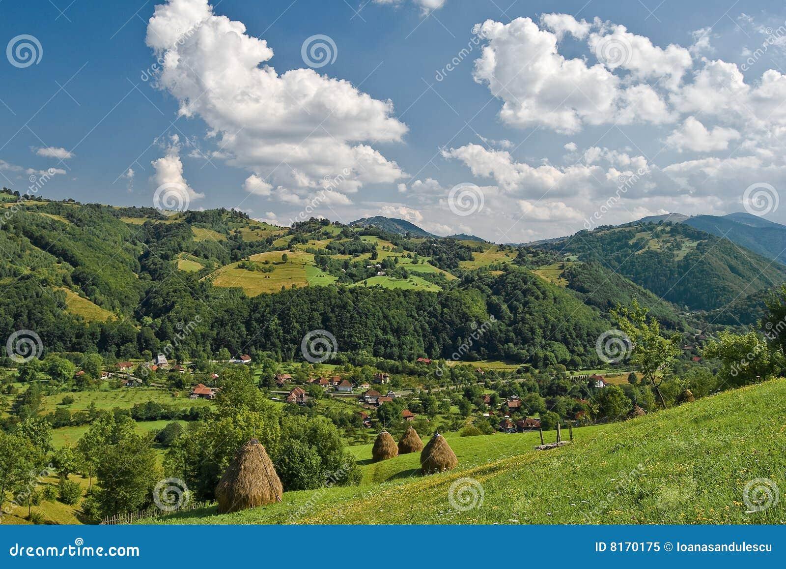 Romanian spring landscape stock image image of scenery for Romania landscape
