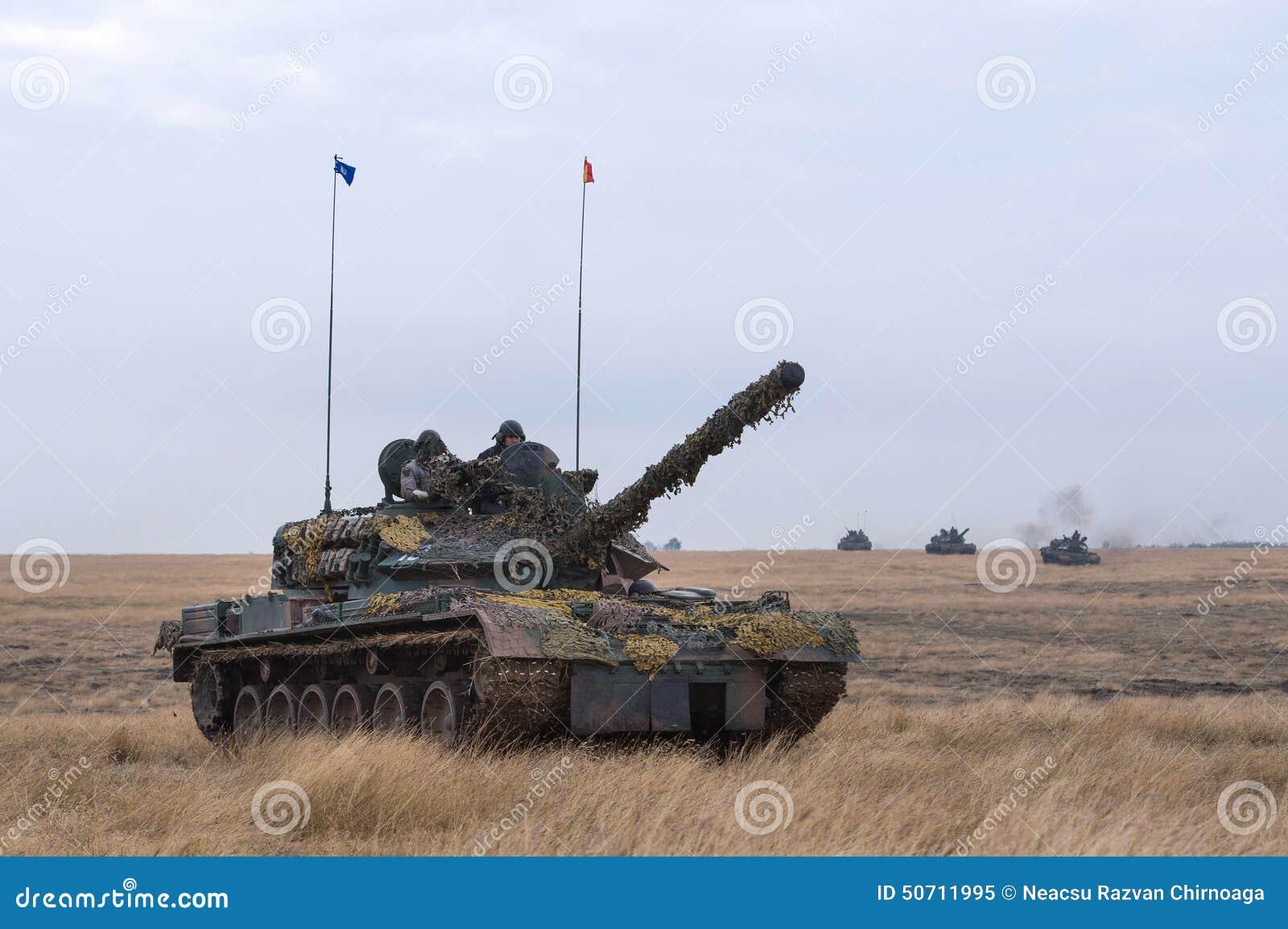 Romanian Tank TR 85M \u0027Bizonul\u0027 Editorial Image - Image of camouflage
