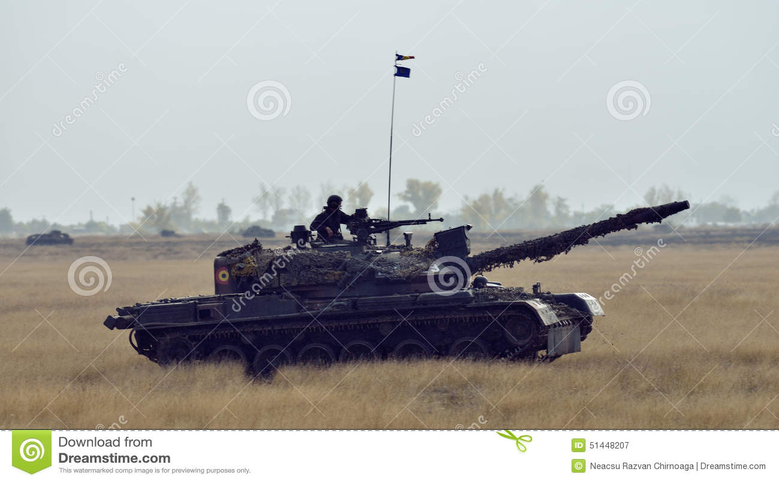 Romanian Tank TR 85M \u0027Bizonul\u0027 Editorial Photography - Image of
