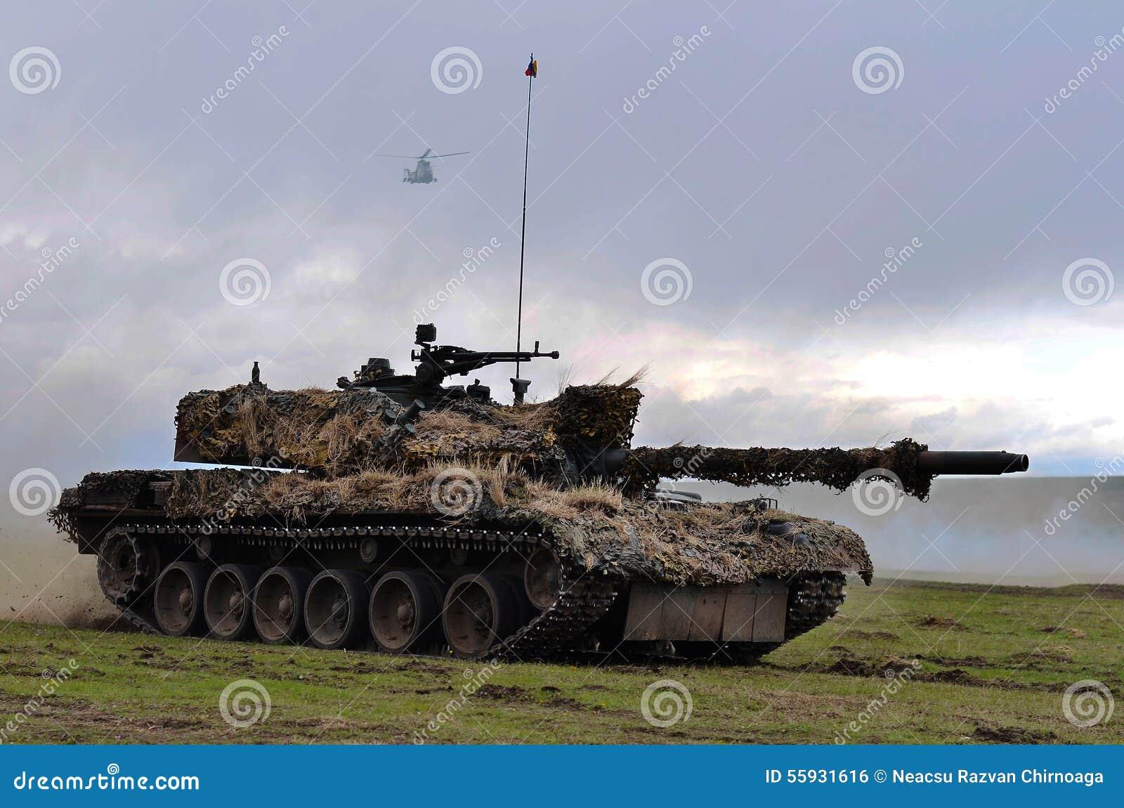 Romanian tank TR-85M1 editorial photo. Image of auto - 55931616