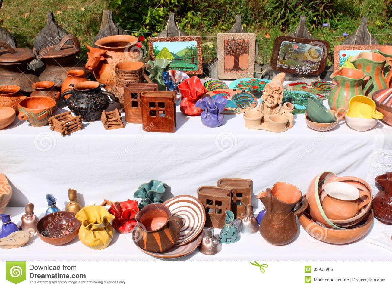 Romanian traditional crafts stock photo image 33903906 for Homemade crafts for sale