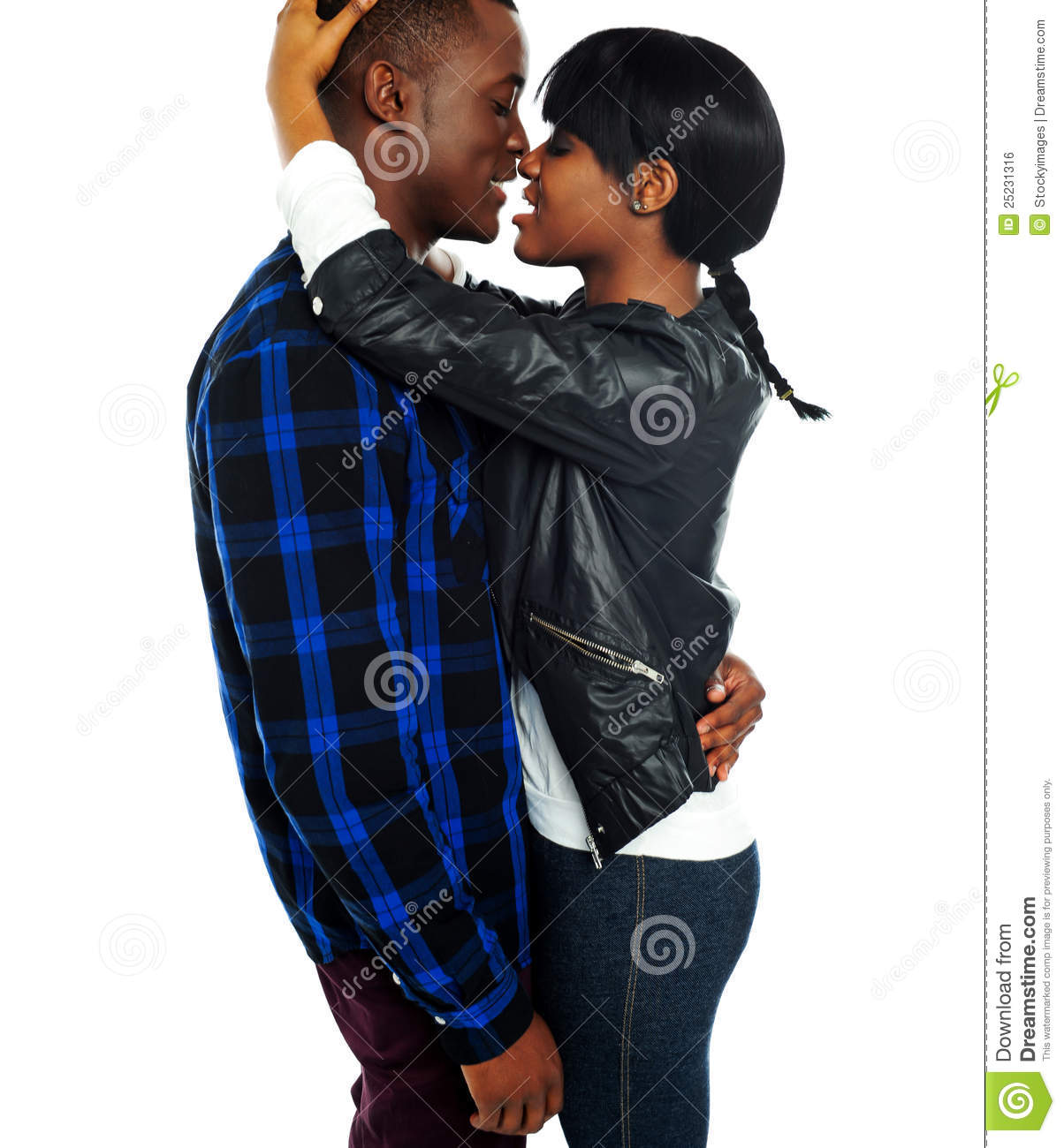 africans caught making love