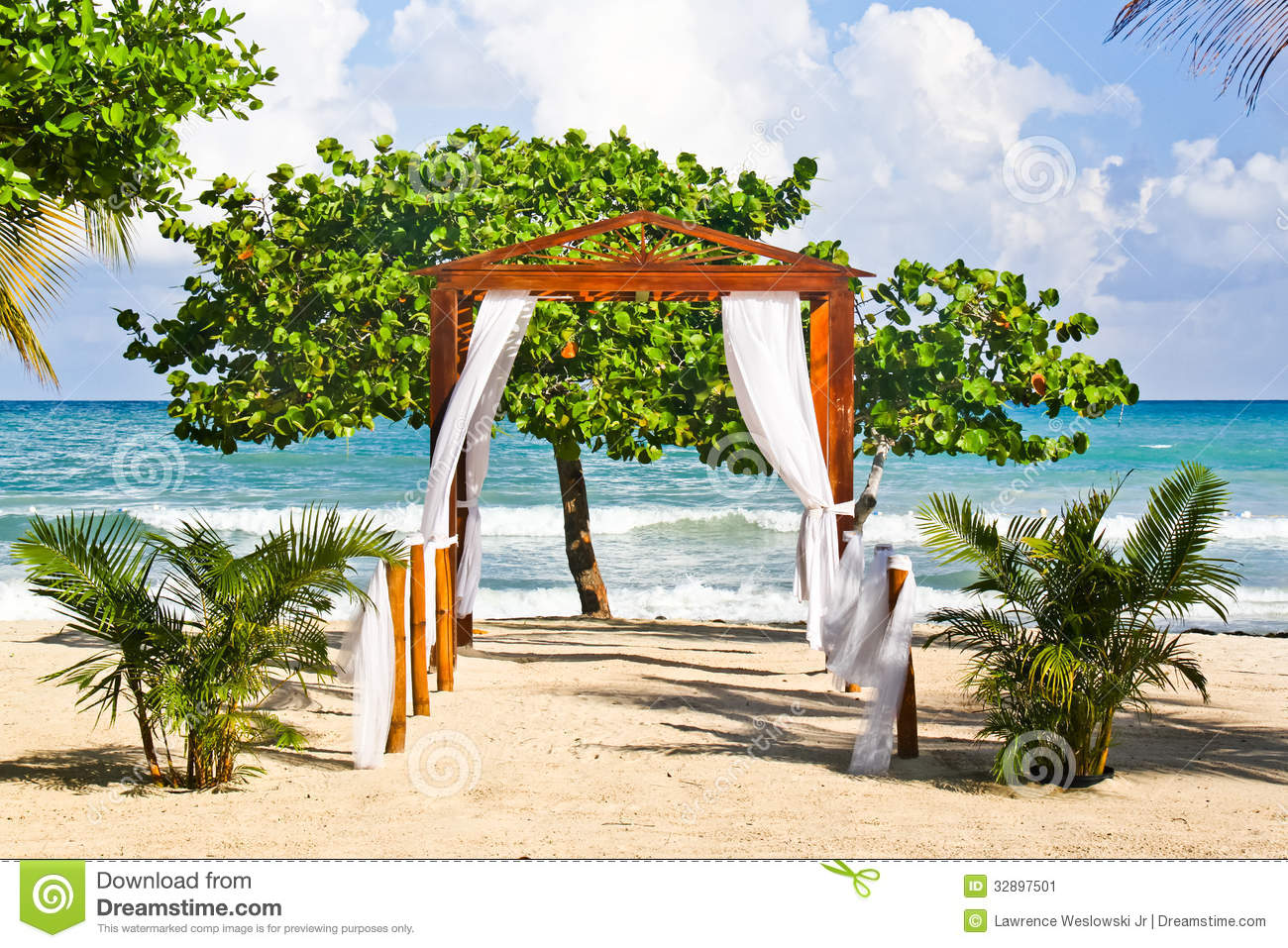 Romantic Beach Wedding Spot In Jamaica
