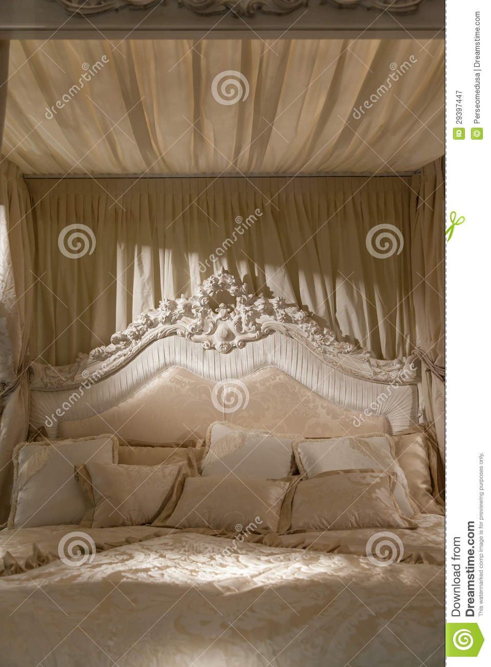 Romantic Bedroom Royalty Free Stock Photography Image