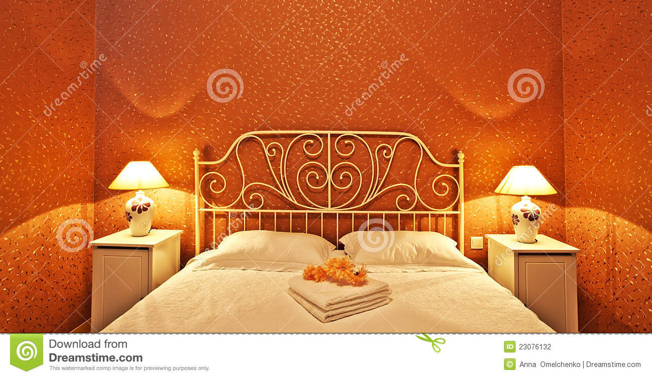 Romantic Bedroom Interior Stock Photography Image 23076132