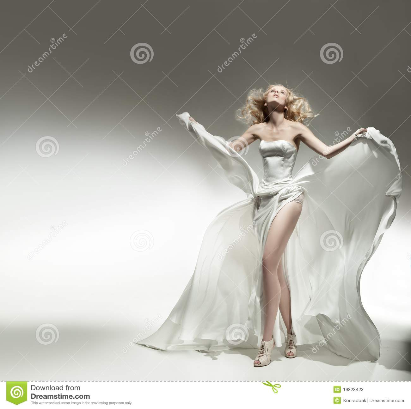 Romantic blonde beauty
