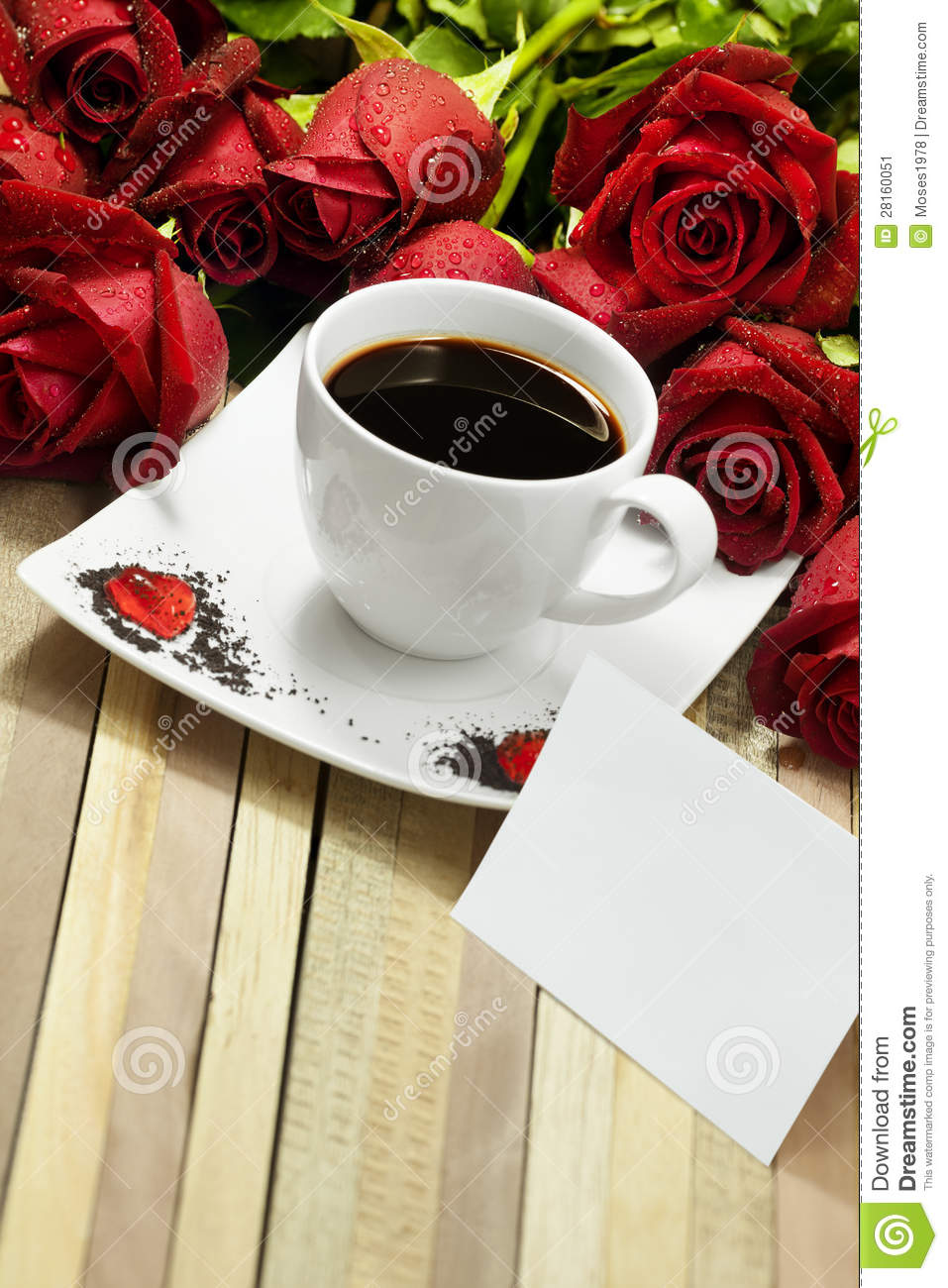 Romantic Coffee Stock Image Image 28160051