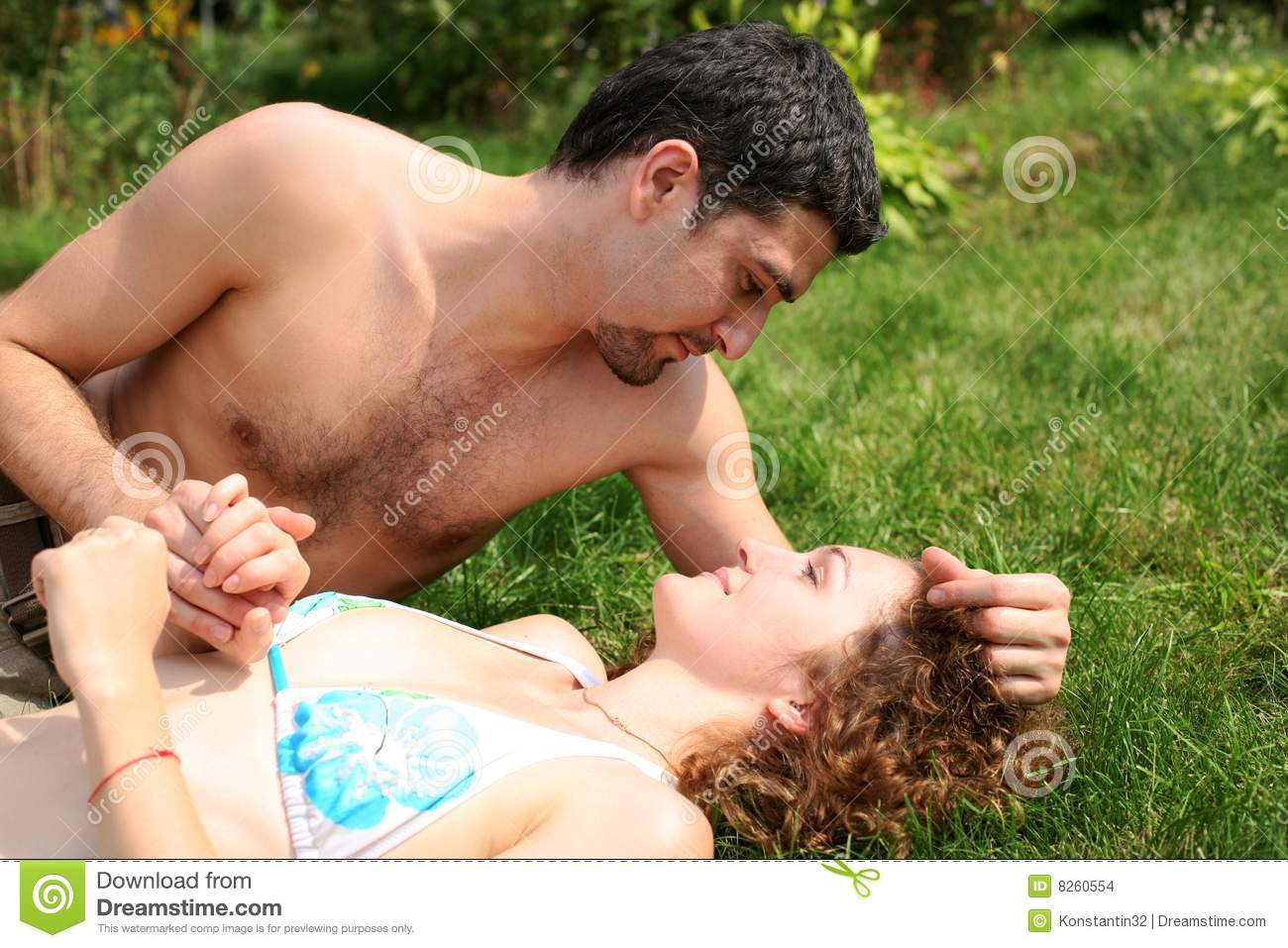 sex couple romantic naked