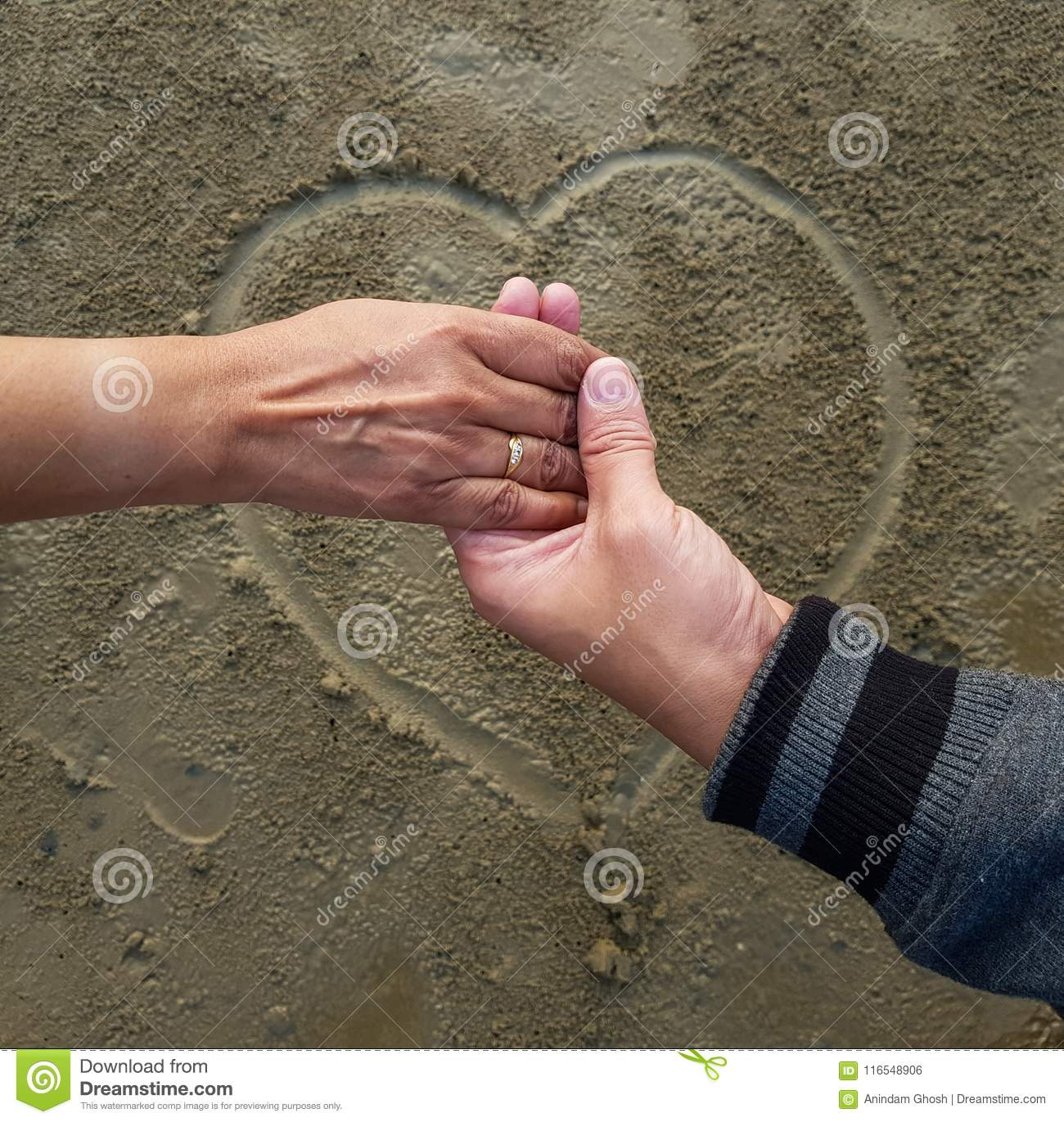 Christian dating hand holding