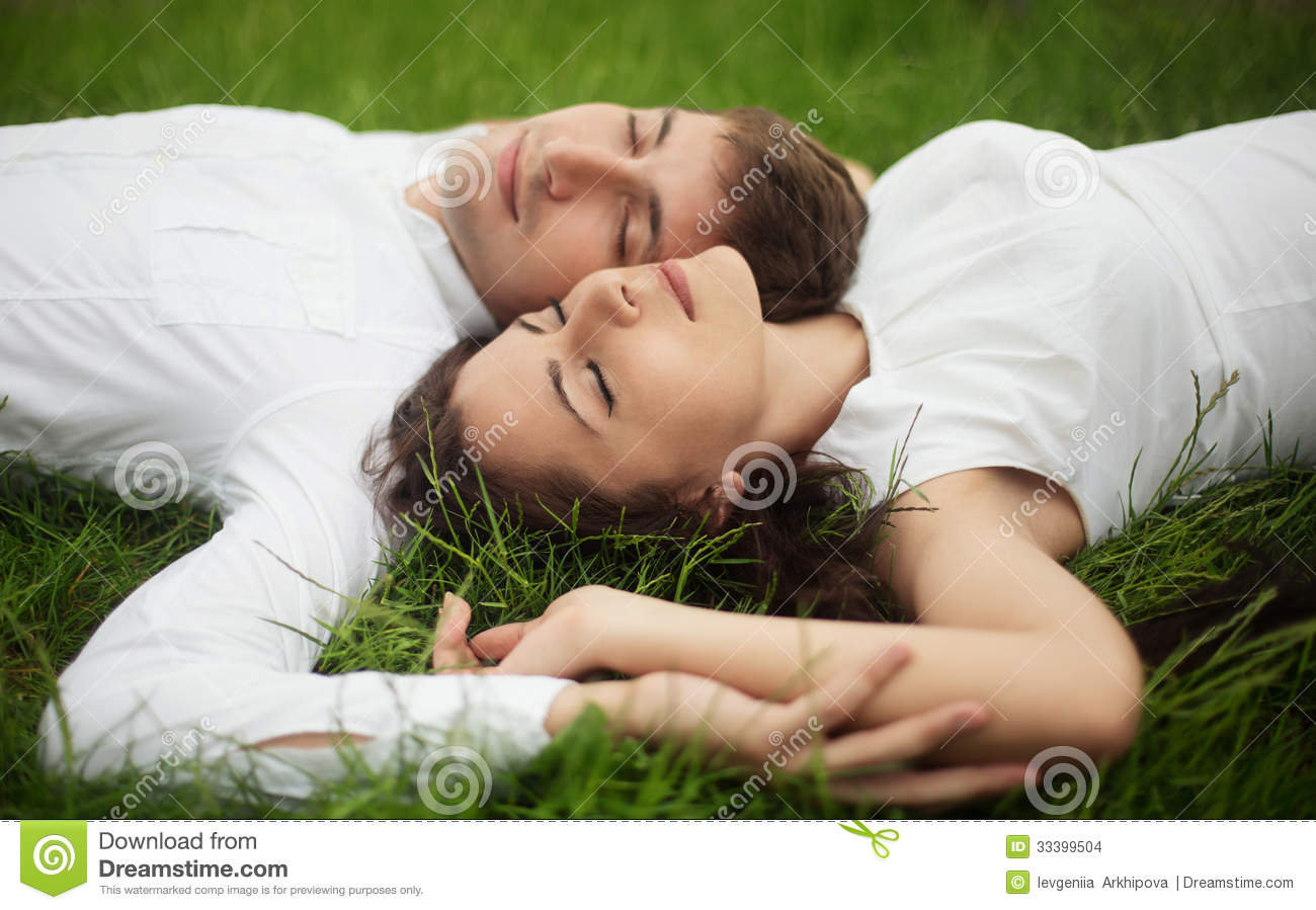 Romantic couple outdoor stock images image 33399504