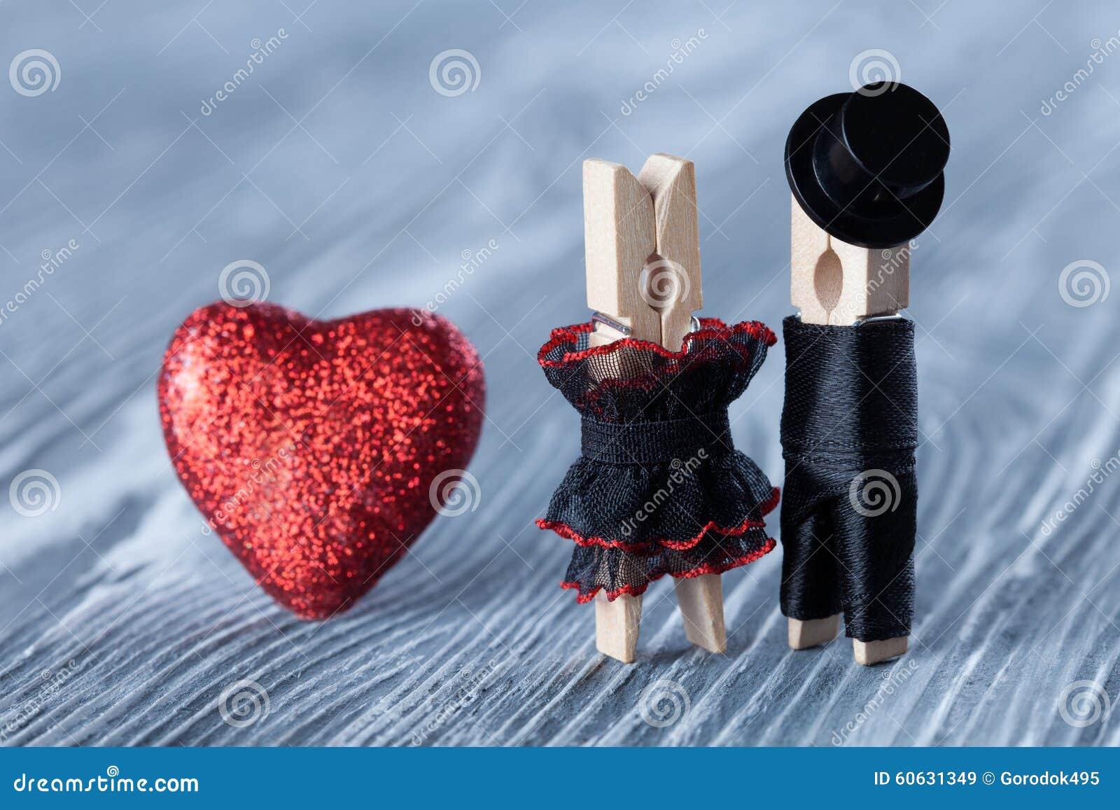Romantic Couple. Wedding Invitation. Groom In Black Suit Hat And ...