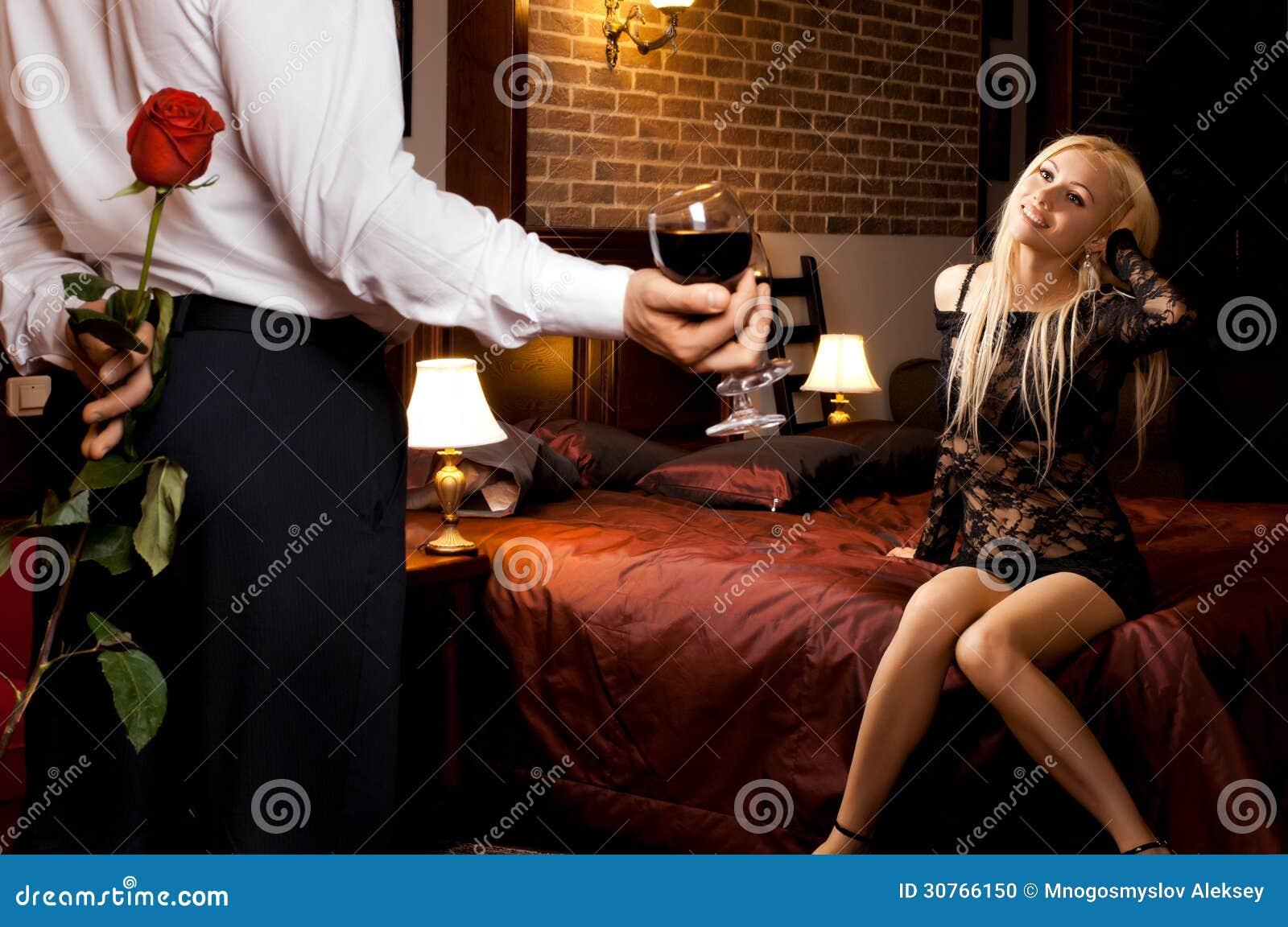 Romantic date sex