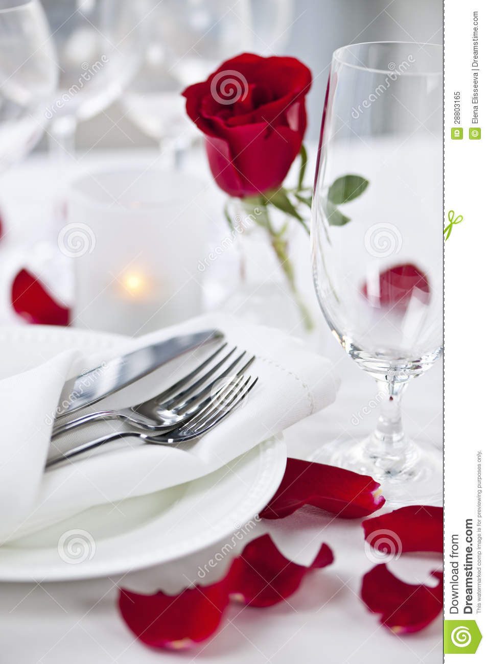 Free Vector Wedding Clipart Romantic Dinner ...