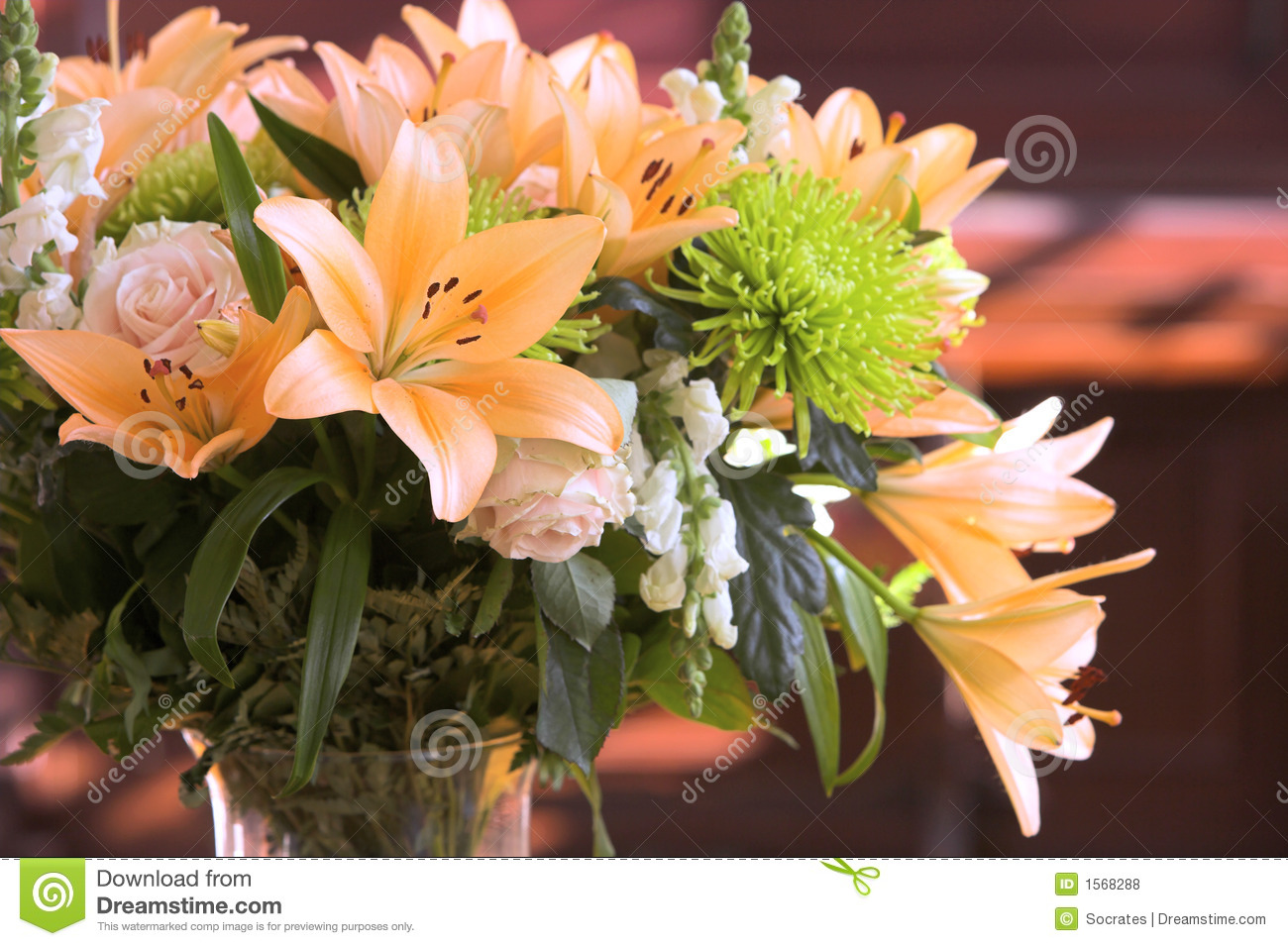Romantic Flowers Stock Photo Image Of Clean Harmony 1568288