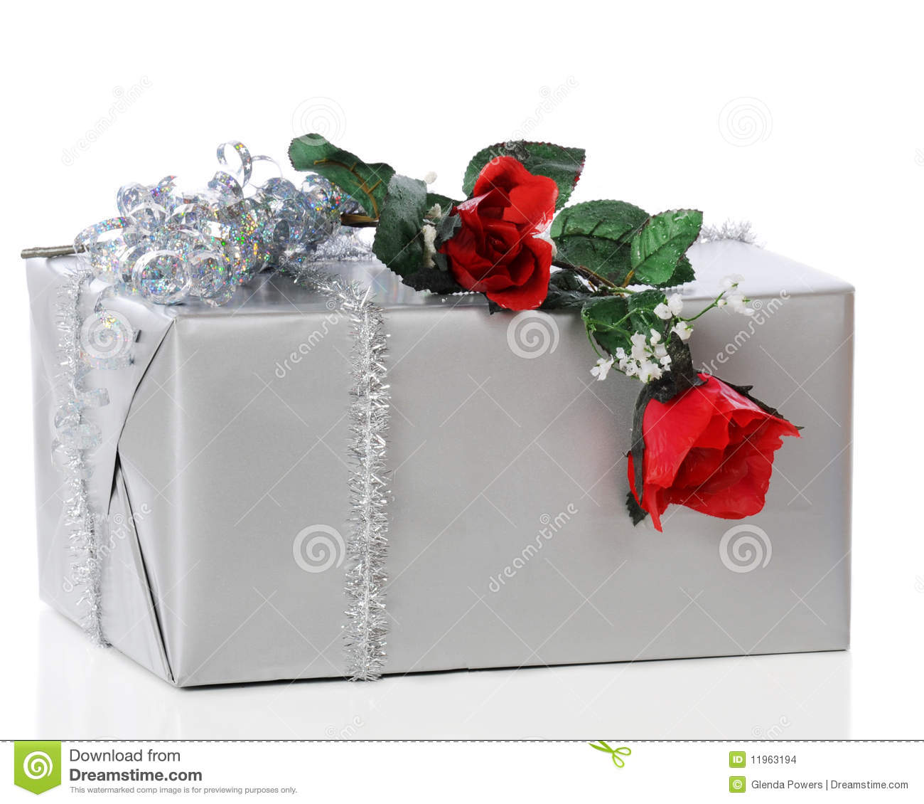 Romantic gift stock photo image of romance wrapped 11963194 romantic gift negle Image collections