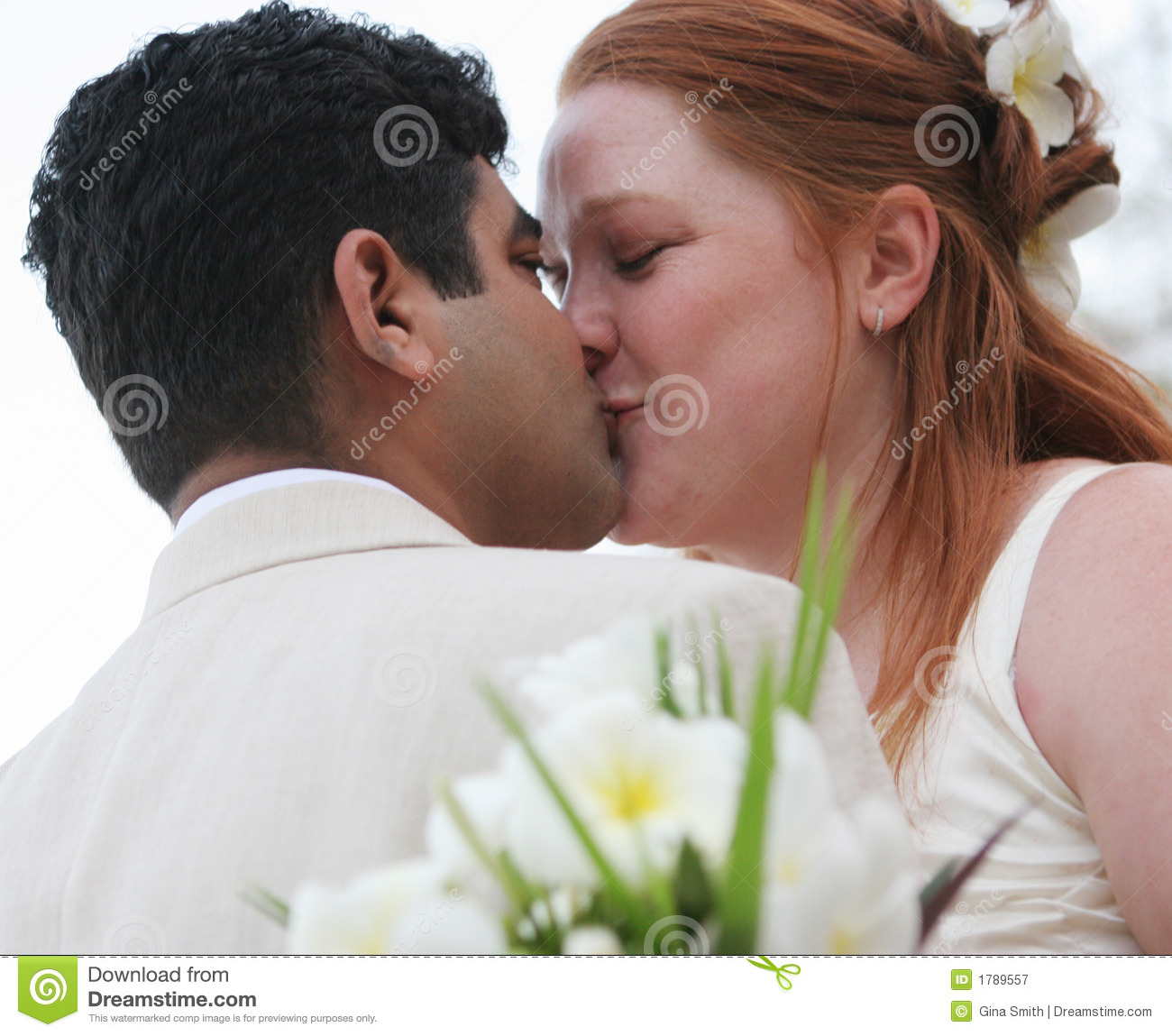 Romantic kiss stock image. Image of bright, colorful ...