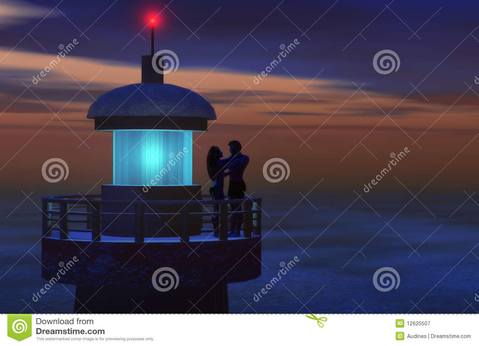 Romantic lighthouse