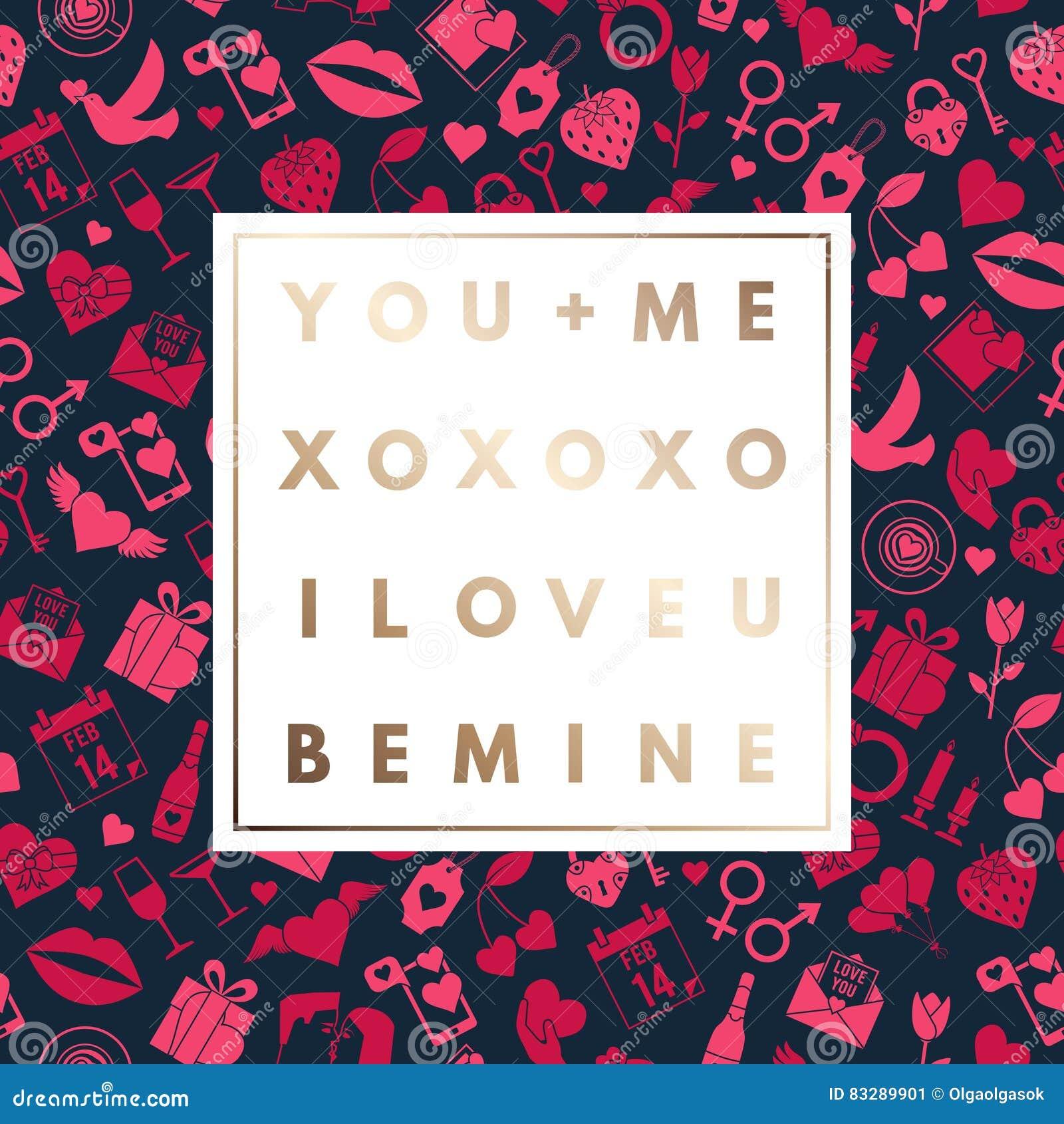 Romantic logo in frame stock vector. Illustration of love - 83289901