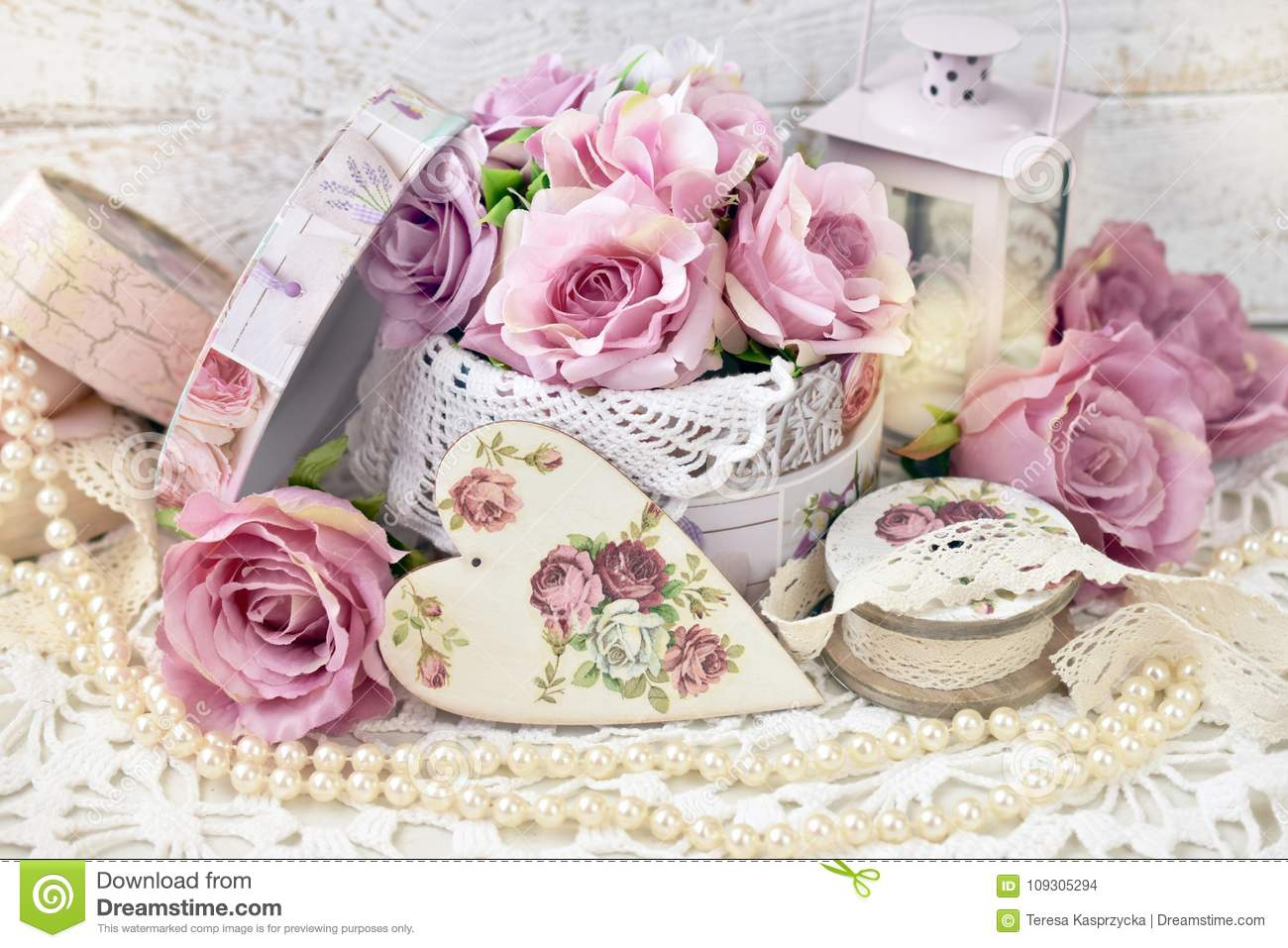 Swell Romantic Love Decoration In Shabby Chic Style For Wedding Or Home Remodeling Inspirations Gresiscottssportslandcom