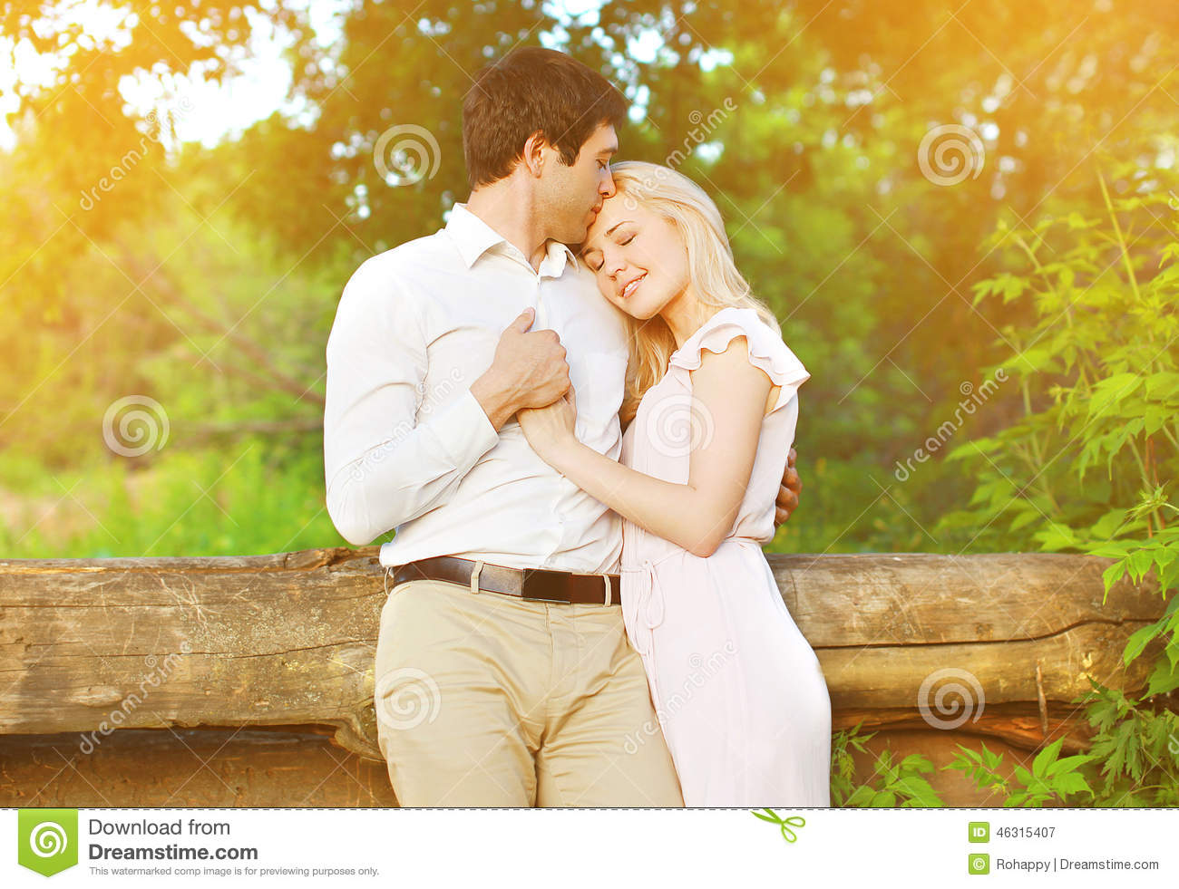 Romantic Lovely Young Couple In Love Stock Photo 46315407 Megapixl