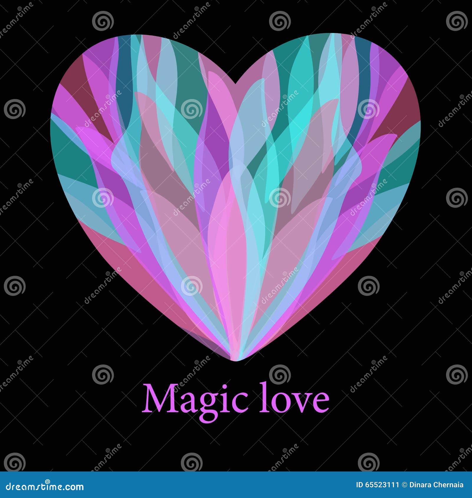 Romantic magic colorful heart with splash background stock vector romantic magic colorful heart with splash background kristyandbryce Images