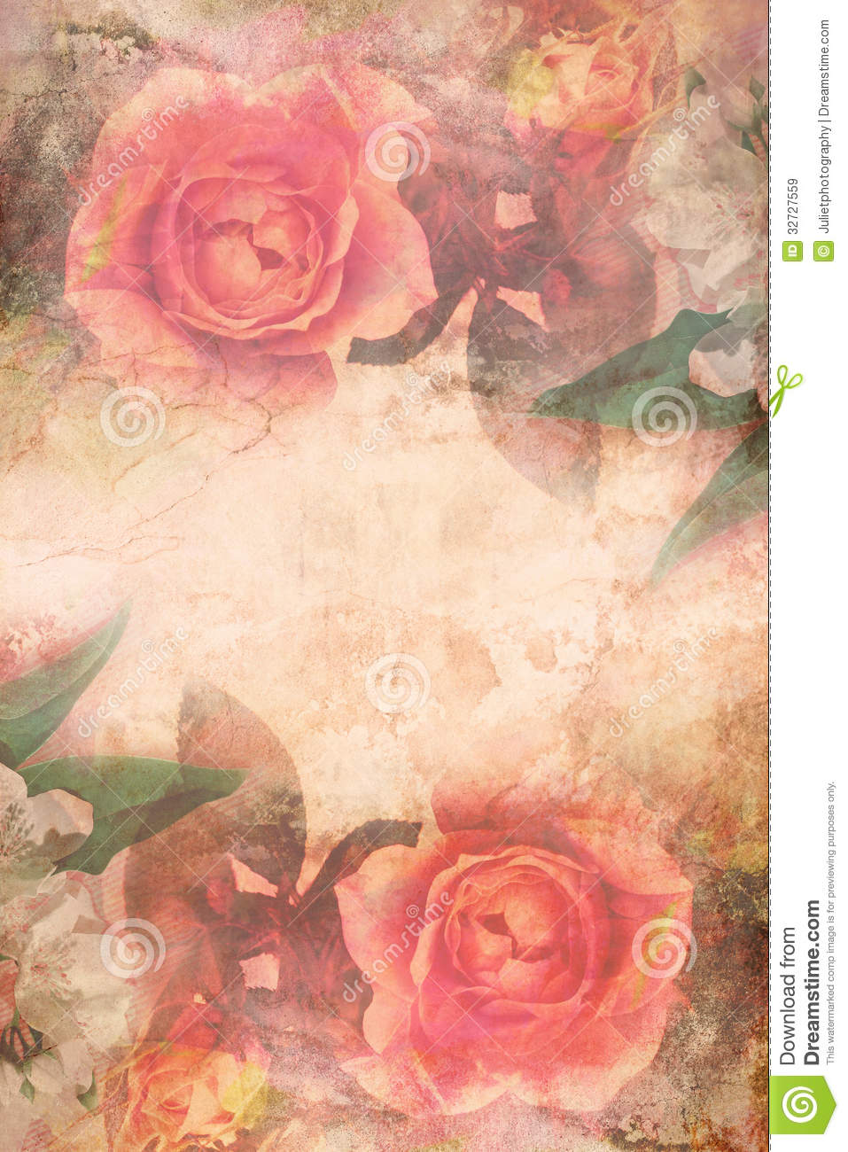 Romantic Pink Roses Background Royalty Free Stock Images ...