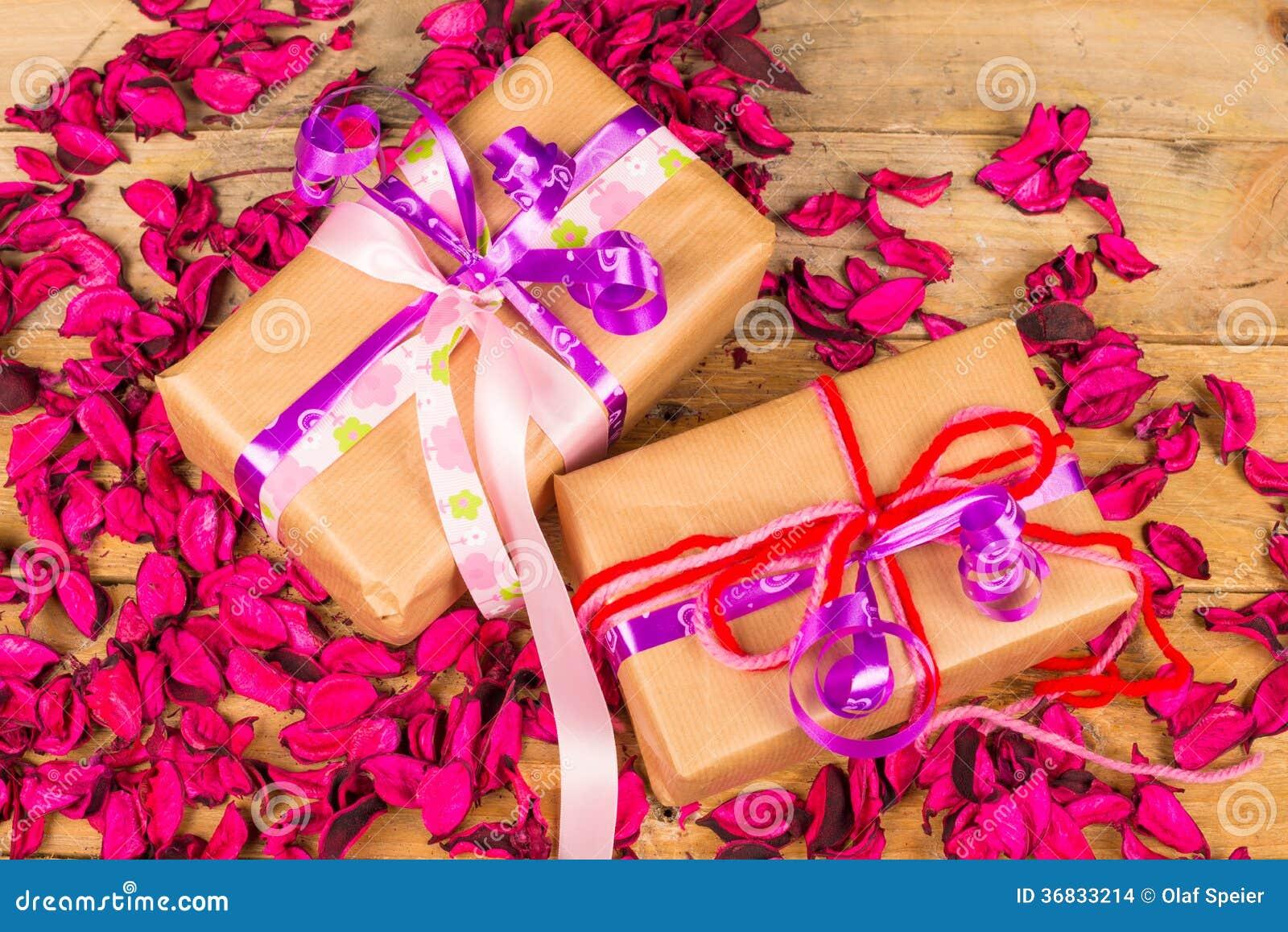 Romantic Presents Stock Photo Image Of Holiday Romantic 36833214