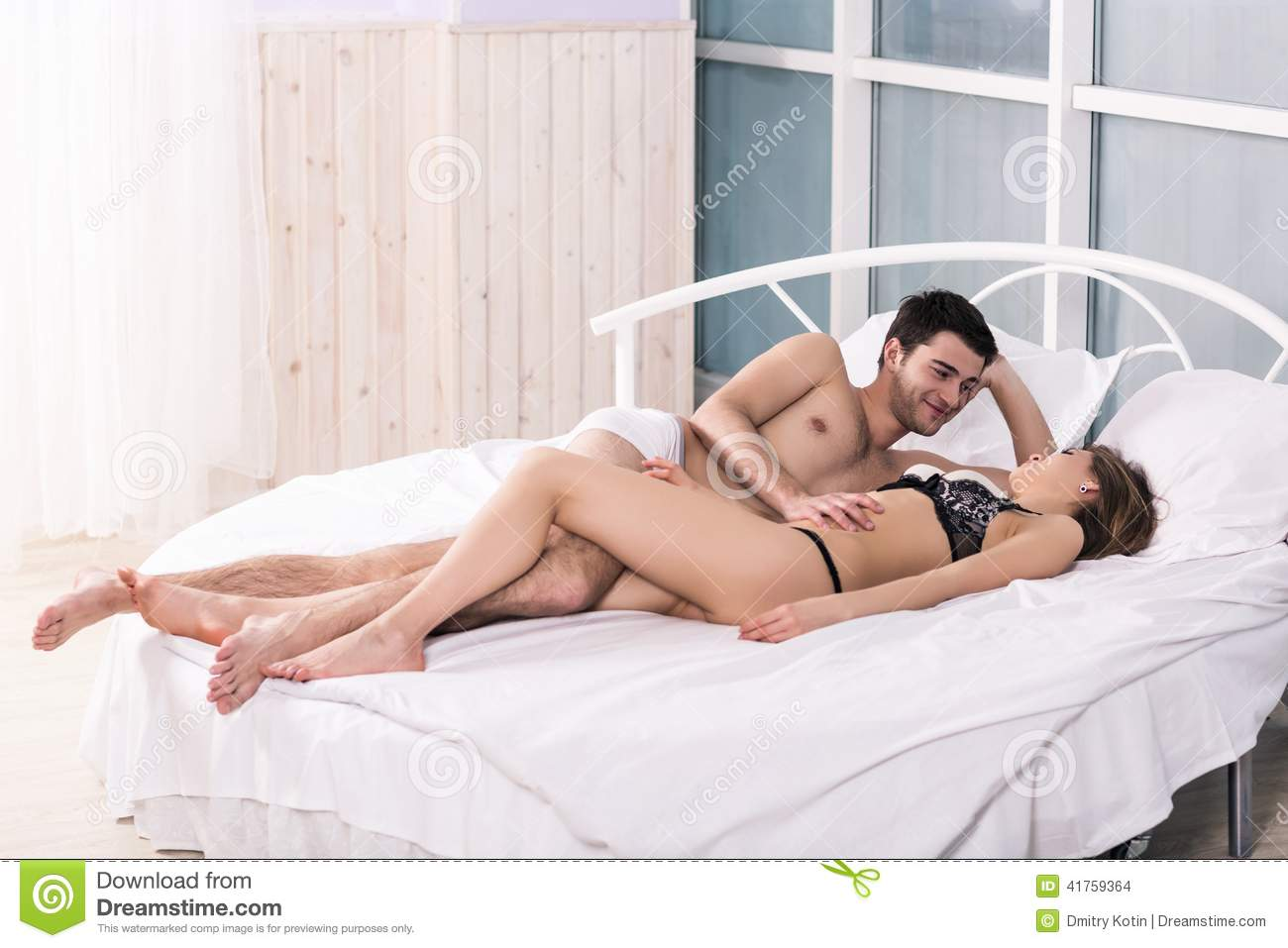 sex scene in bed