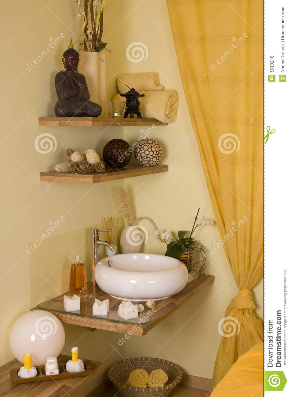Romantic Spa Room Stock Photo Image Of Essentials