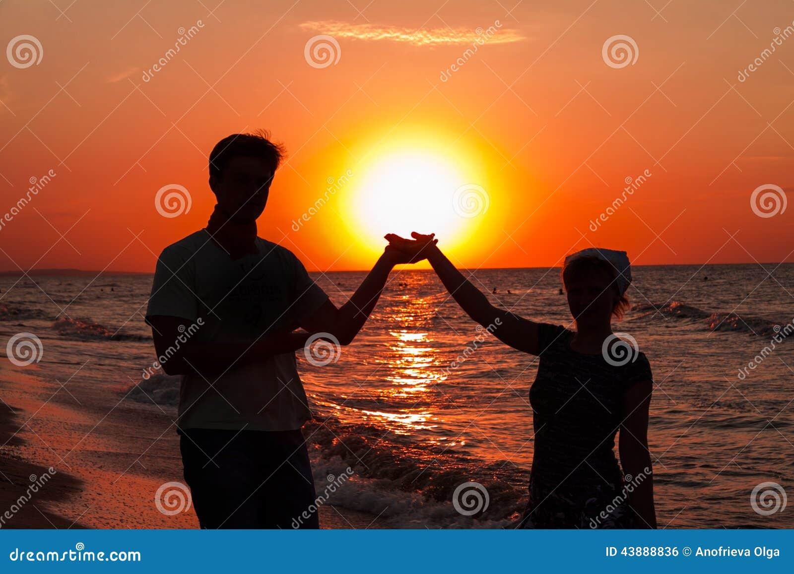 Romantic sunset