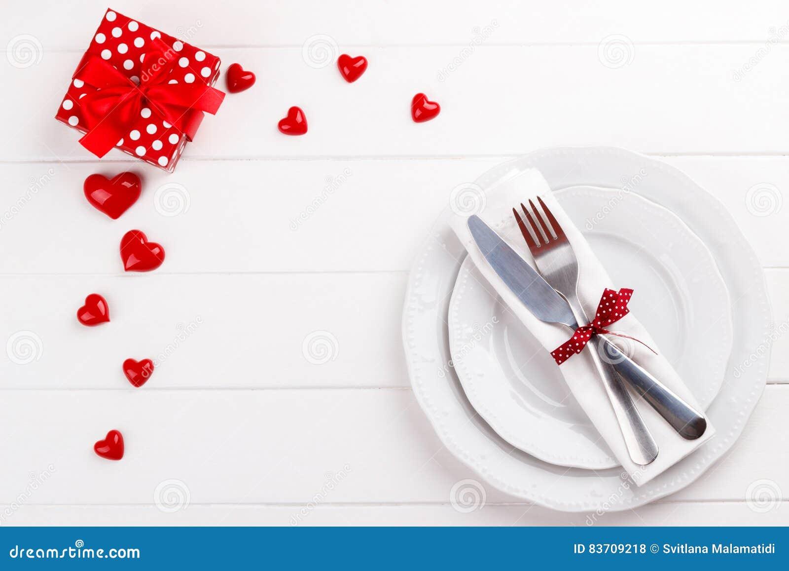 Romantic Table Setting Stock Photo Image Of Restaurant 83709218