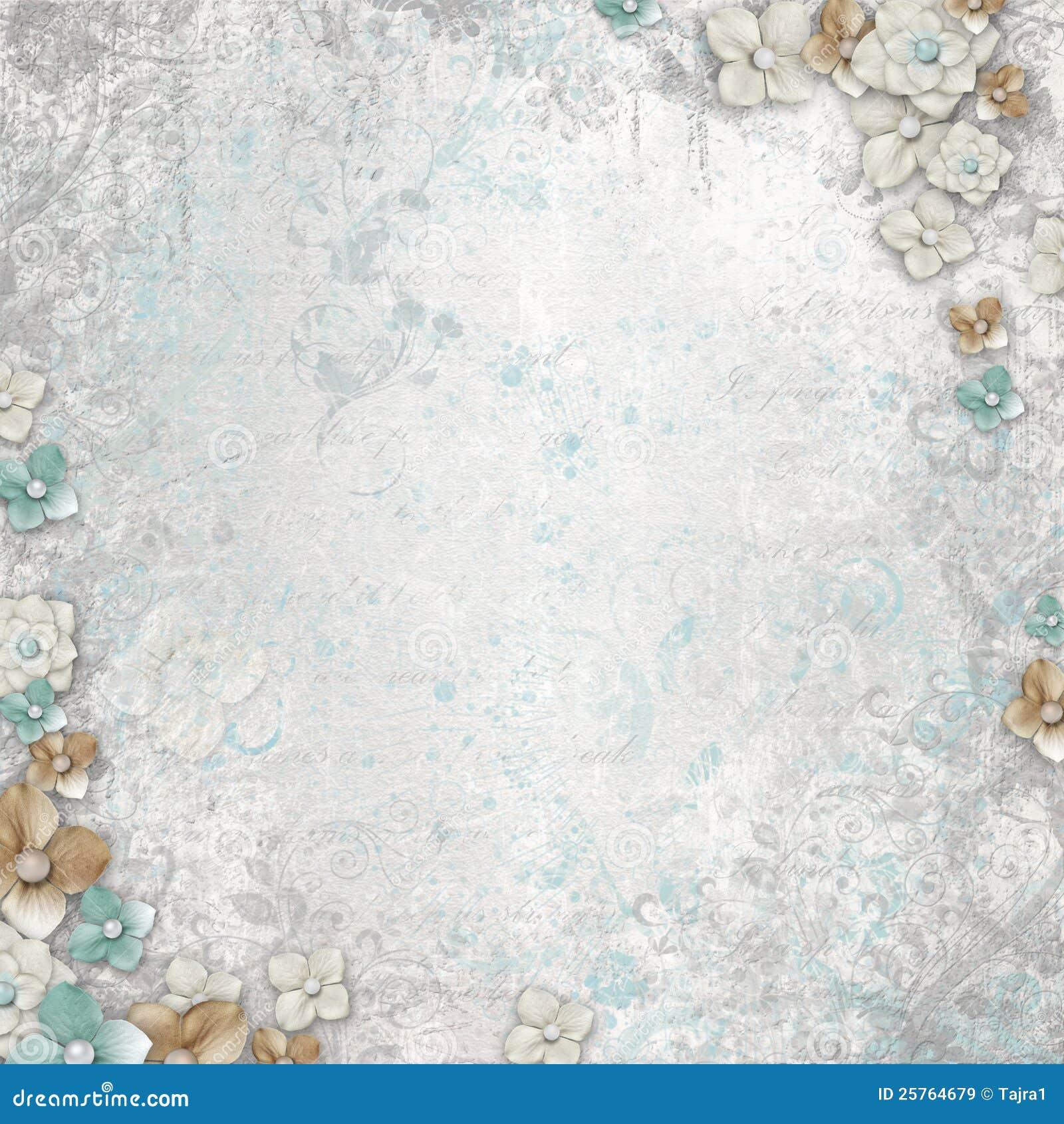 Romantic Vintage White Background Royalty Free Stock Images - Image ...