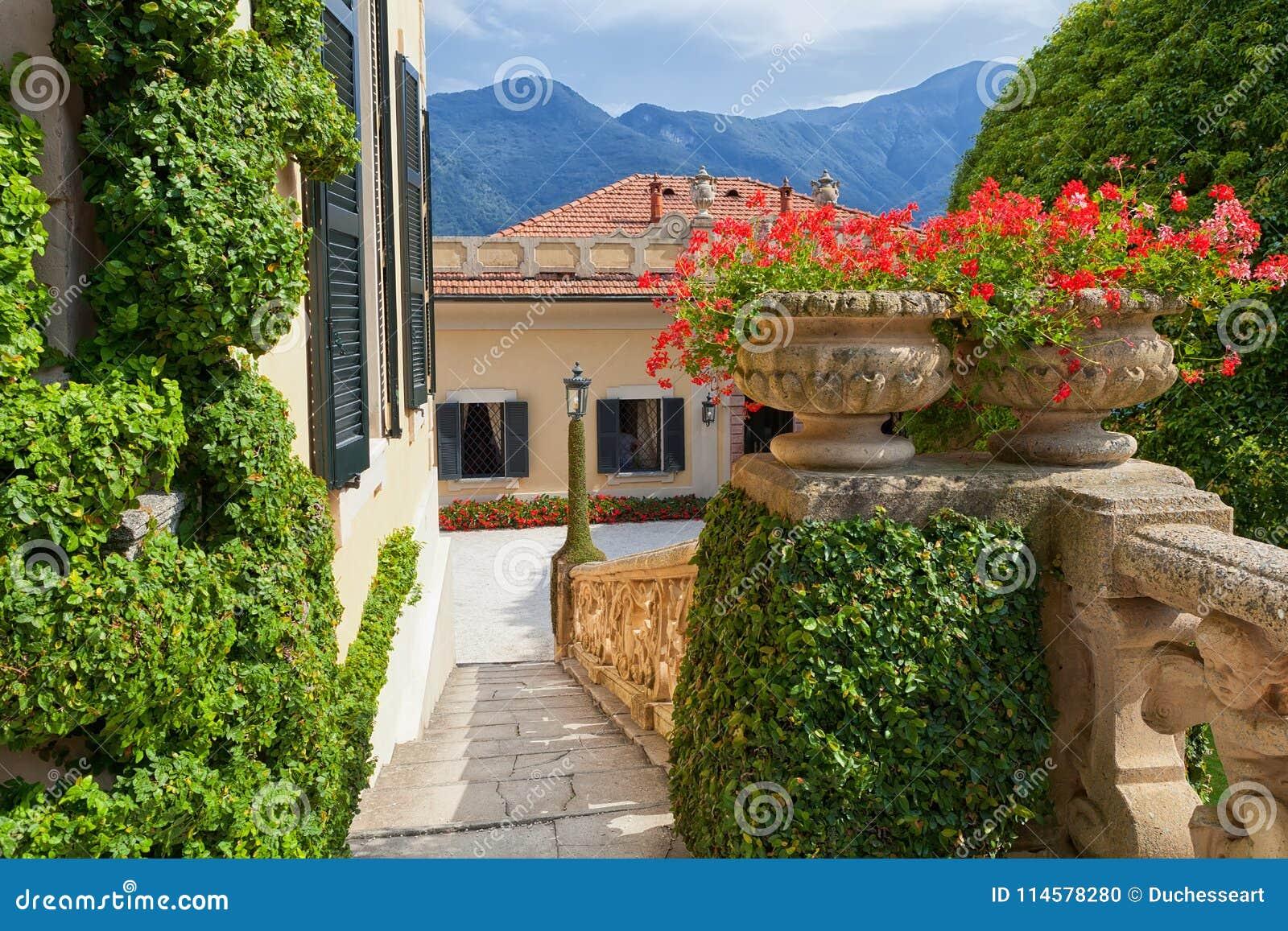 Villa Del Balbianello On Lake Como, Lenno, Lombardia ...