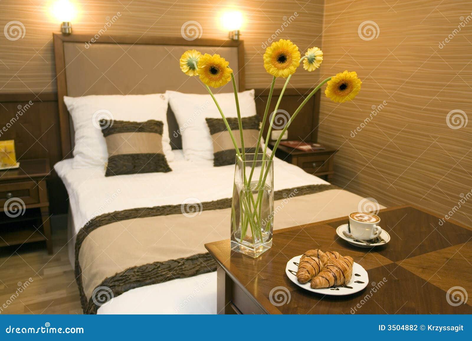 Romantique int rieur de chambre coucher photographie for Chambre a coucher romantique
