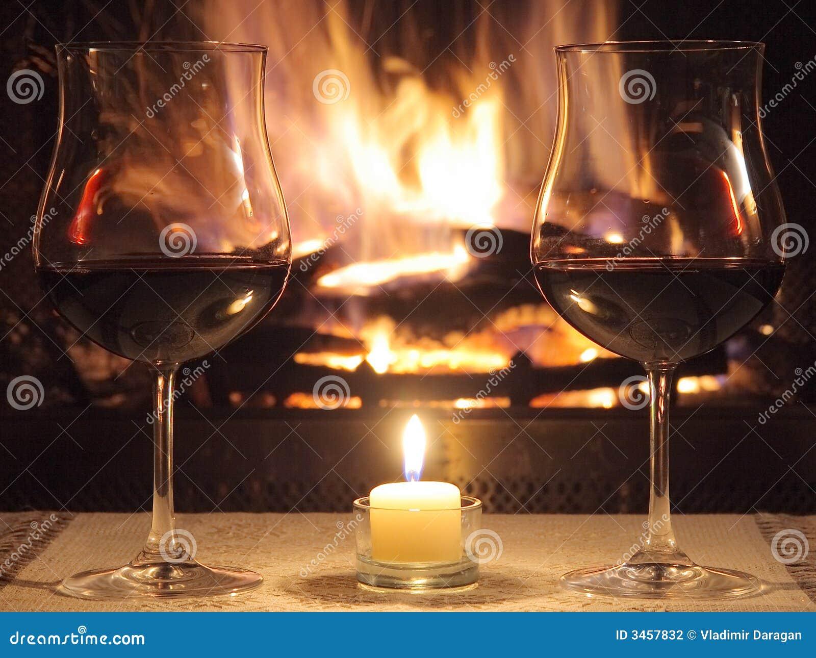 Romantisch diner voor twee stock fotografie afbeelding 3457832 - Ch amber voor twee ...