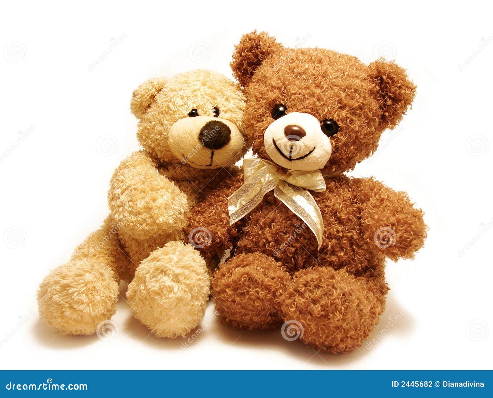 Romantisch Teddybär-trägt