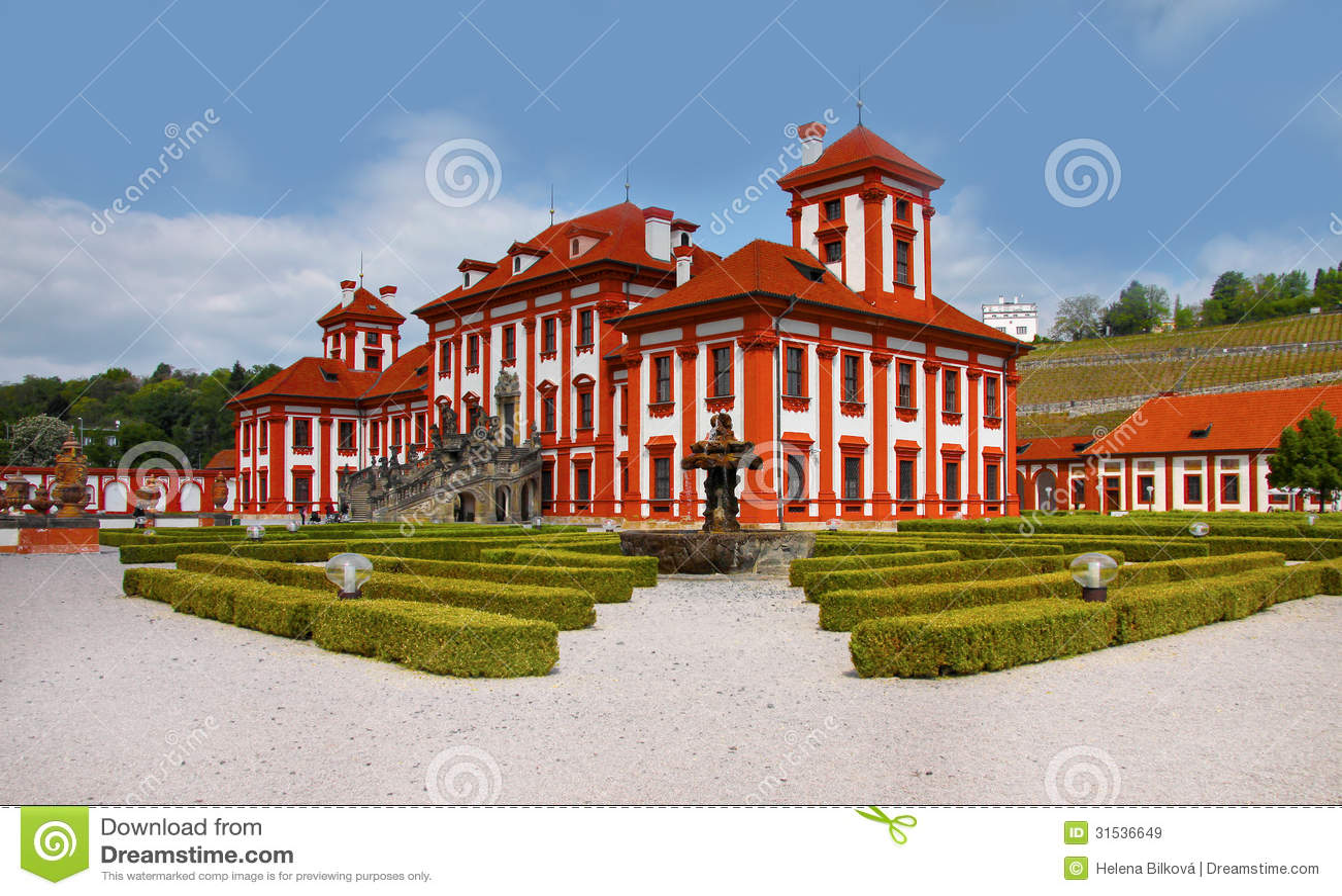 Romantische Troja Chateau - Praag, Oriëntatiepunt