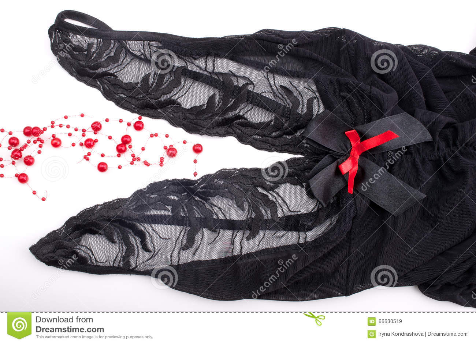 Romantische Valentinstag-Wäsche Stockbild - Bild: 66630519