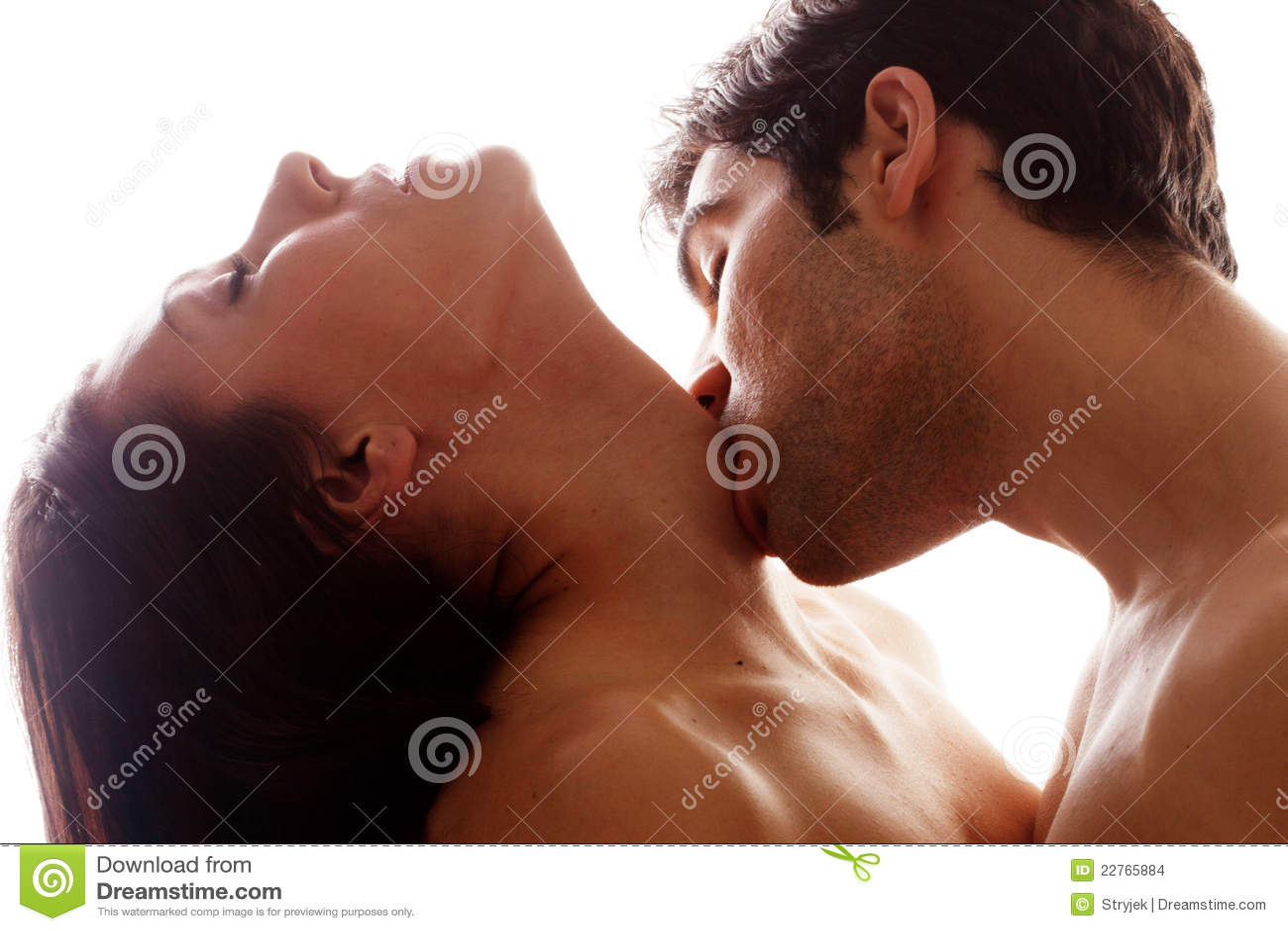 Romantischer Kuss Auf Kehle Stockbilder - Bild: 22765884